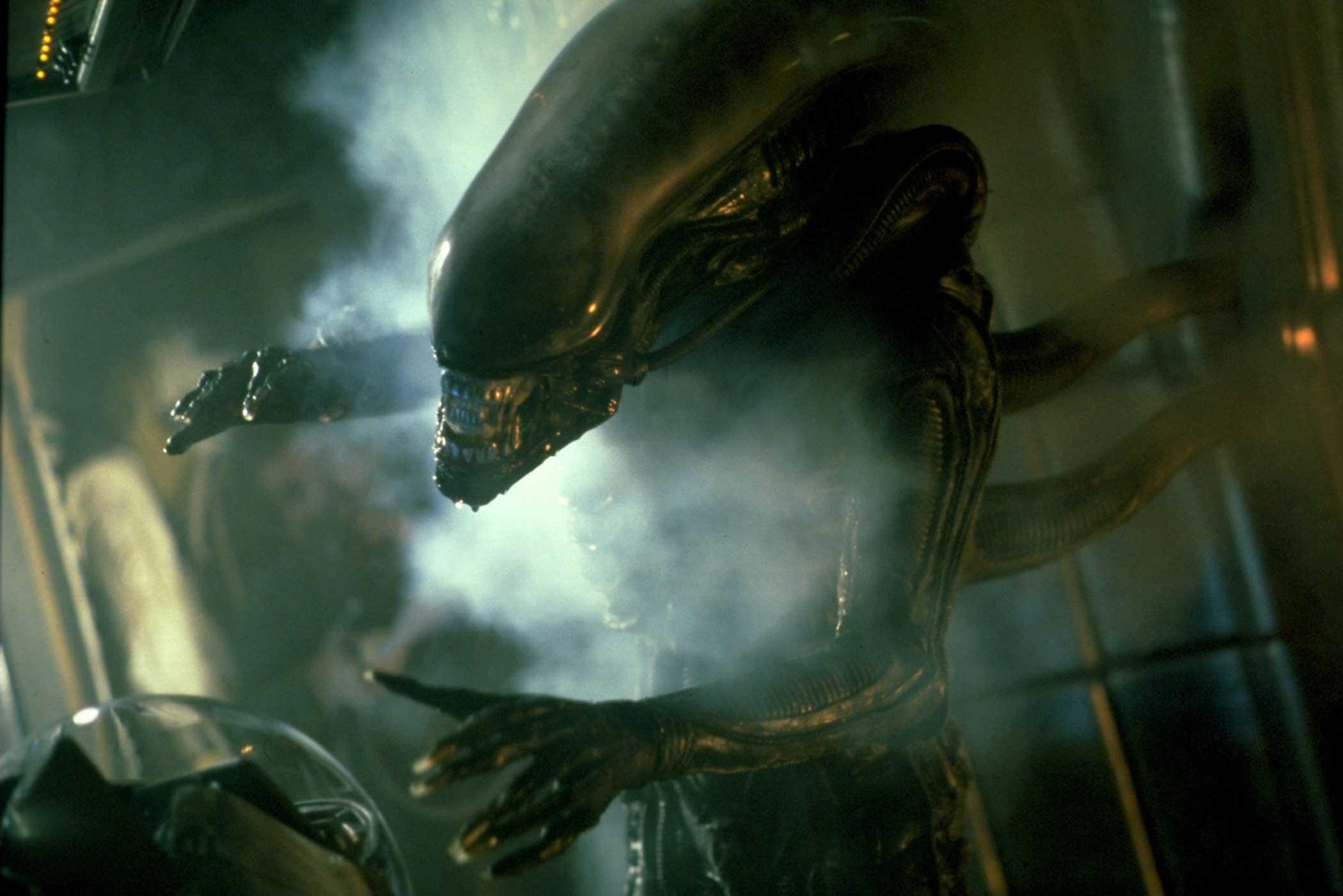 The Alien from Alien, 1979.