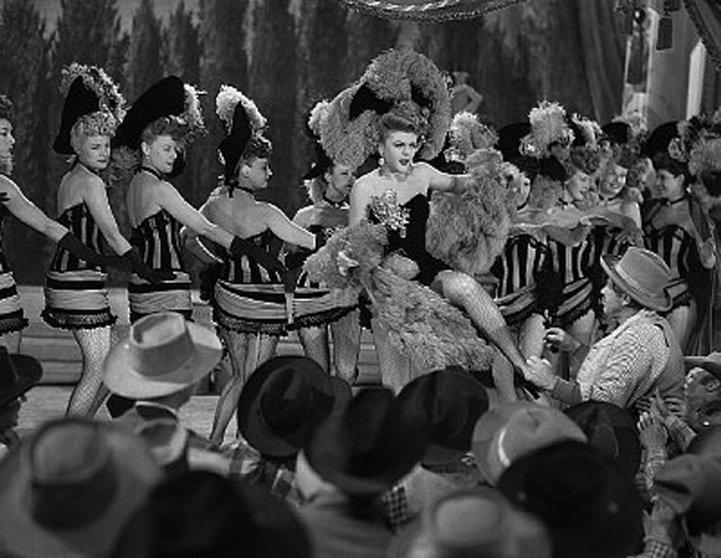 Angela Lansbury Career The Harvey Girls