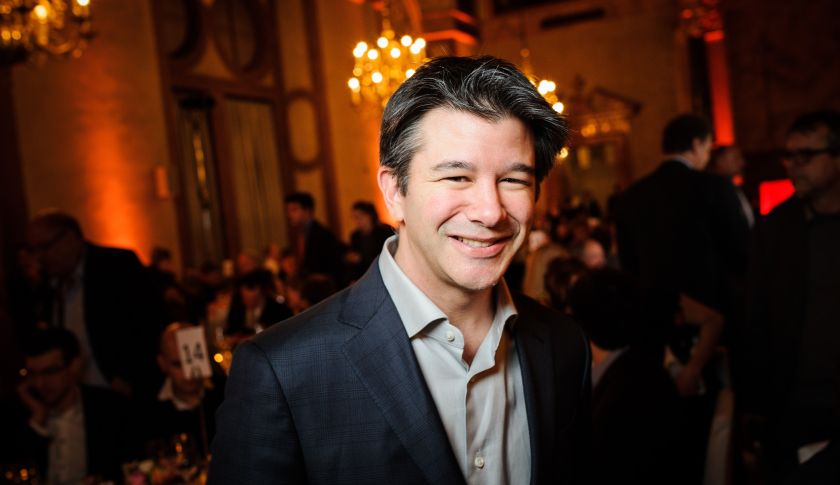 Uber CEO Travis Kalanick.