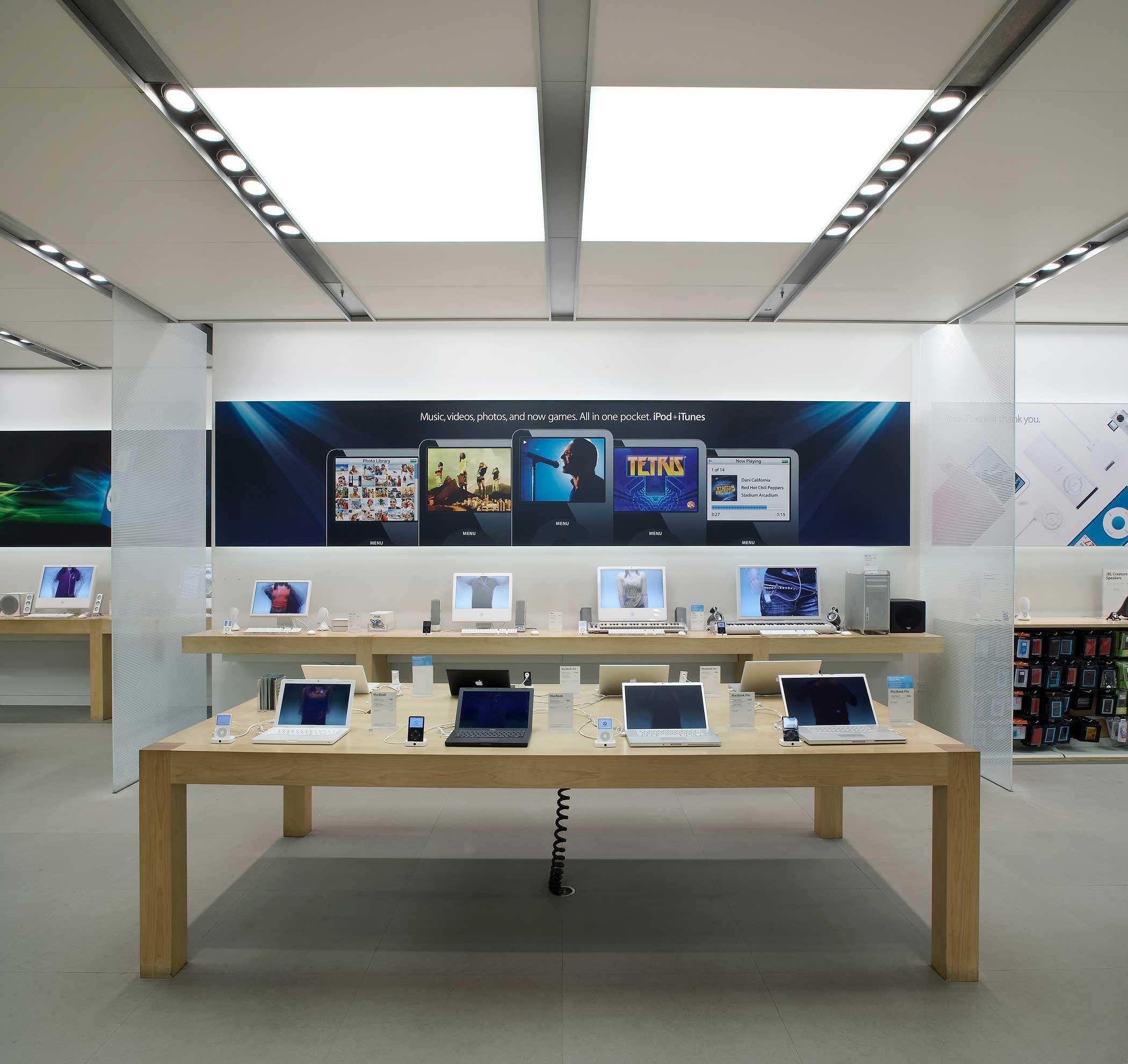 <b>Apple Store</b> The Regent Street Apple Store in London.