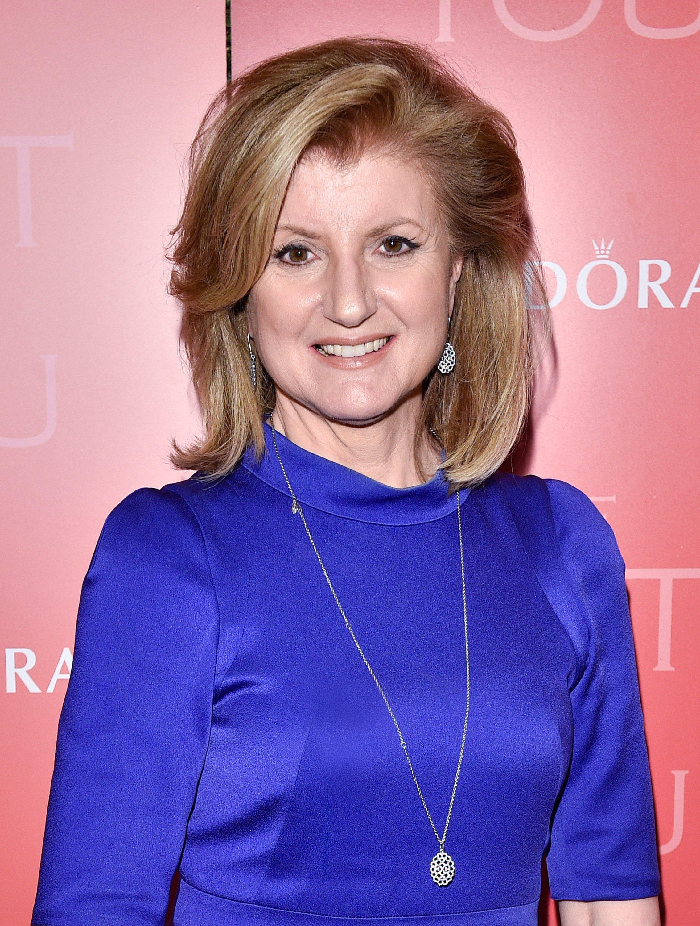 Arianna Huffington at Unique Lives event in Toronto on June 1, 2015.