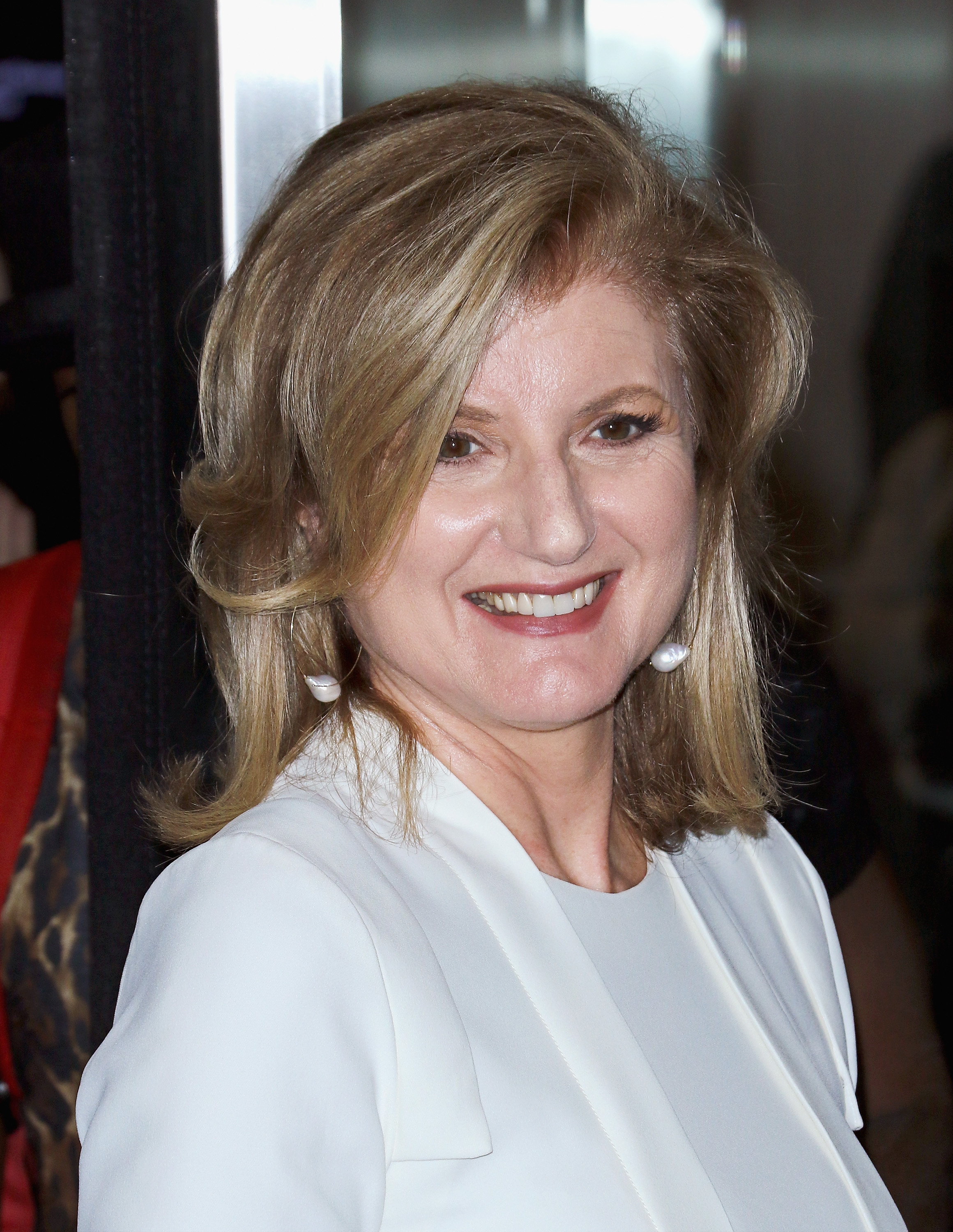Arianna Huffington at a screening of  Irrational Man  in New York City on July 15, 2015.