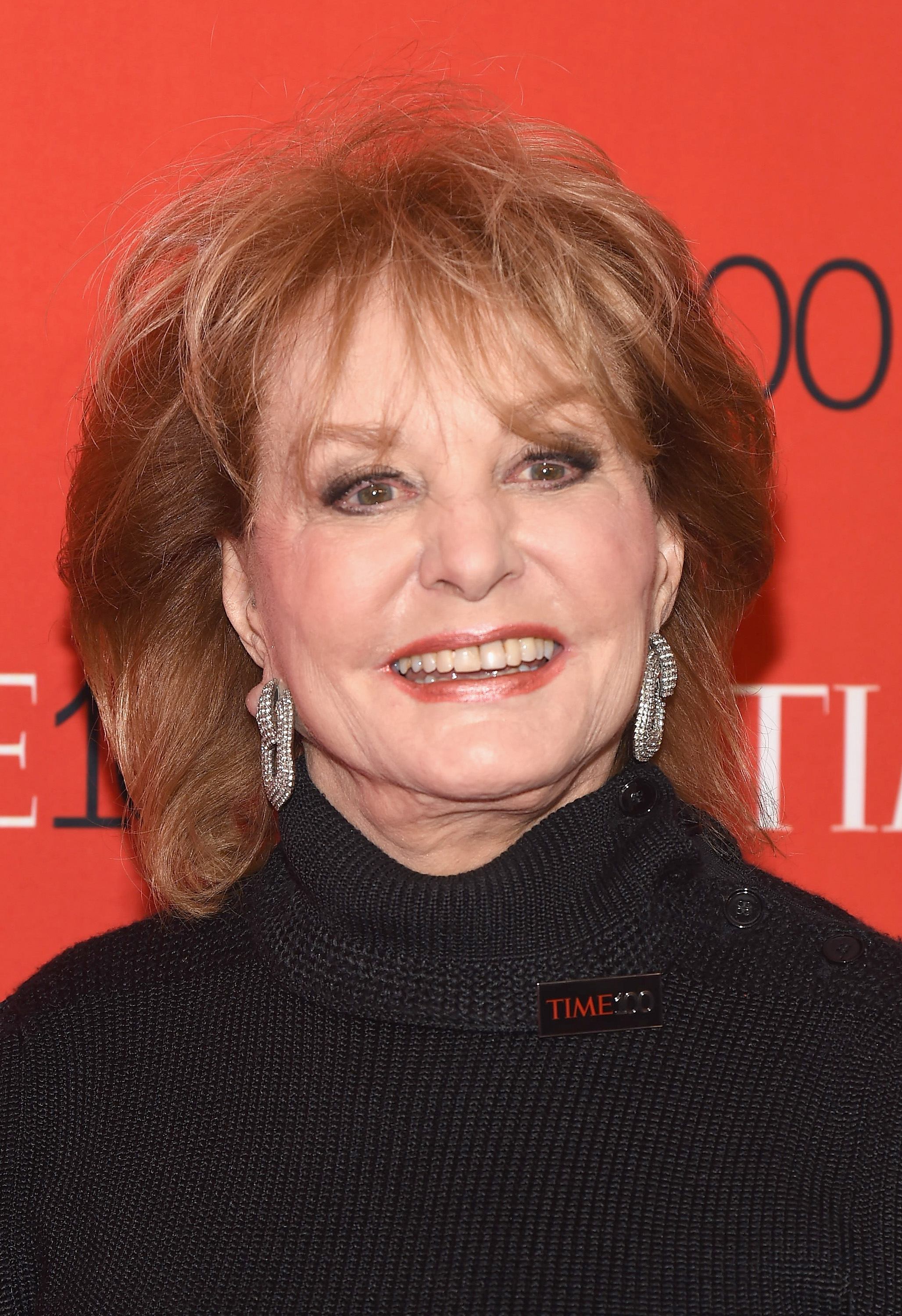 Barbara Walters at TIME 100 Gala in New York City on April 21, 2015.