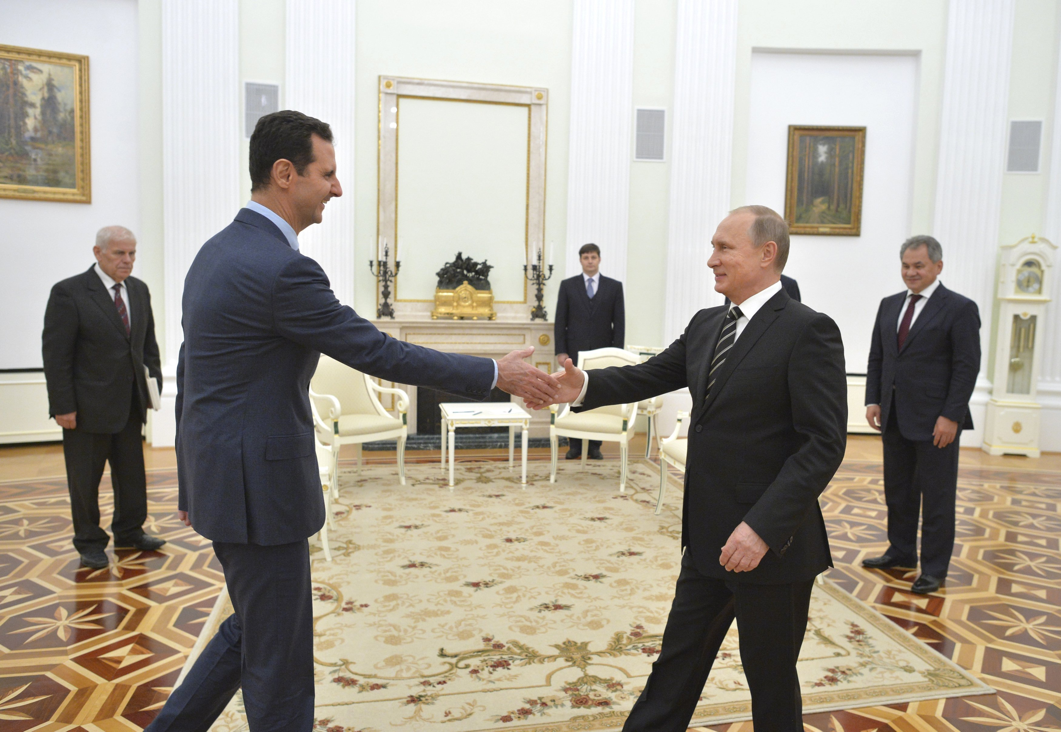 Putin and Assad Discuss Military Efforts at Surprise Meeting | Time