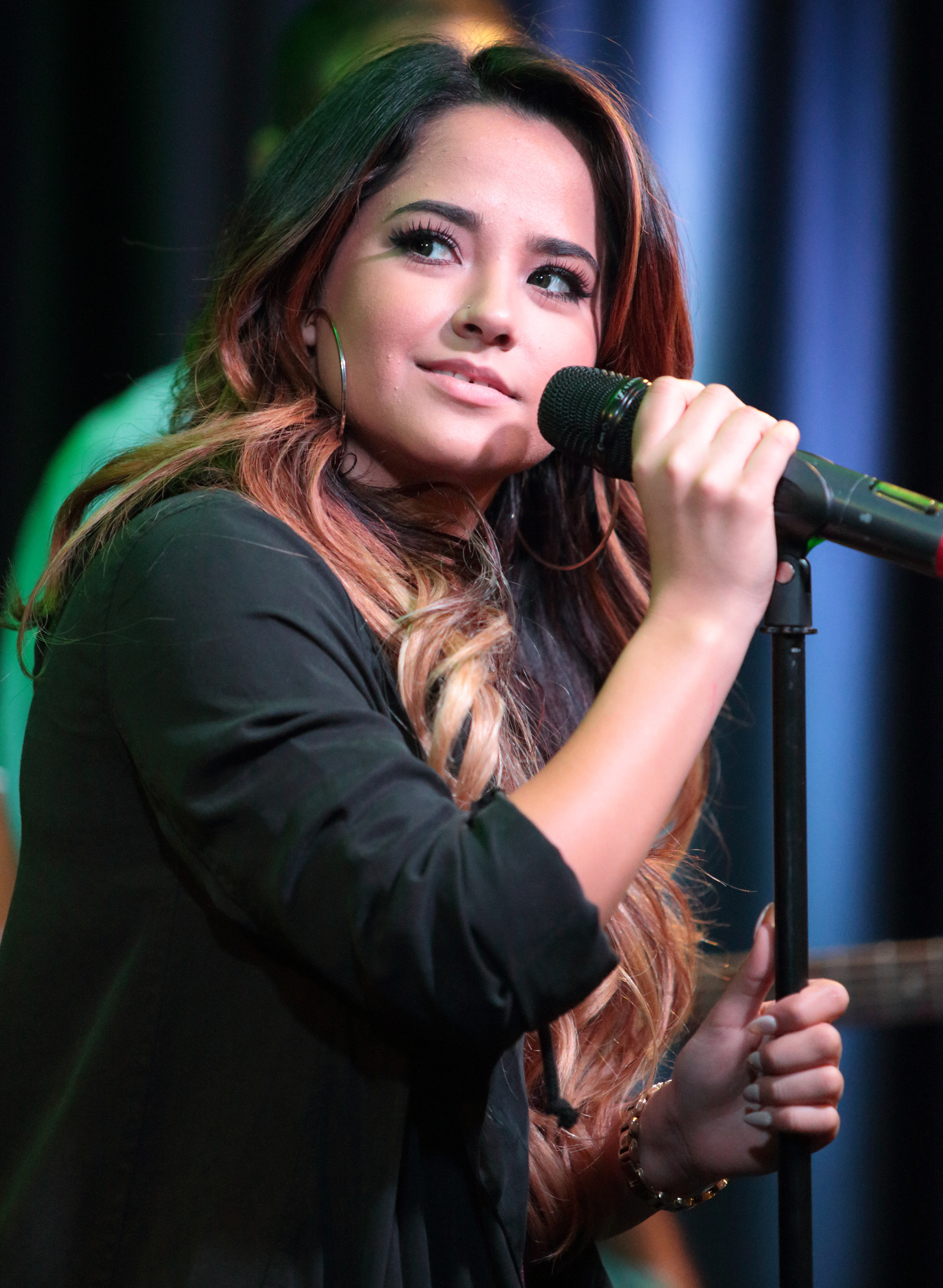 Becky G visits in Philadelphia on Sept. 30.