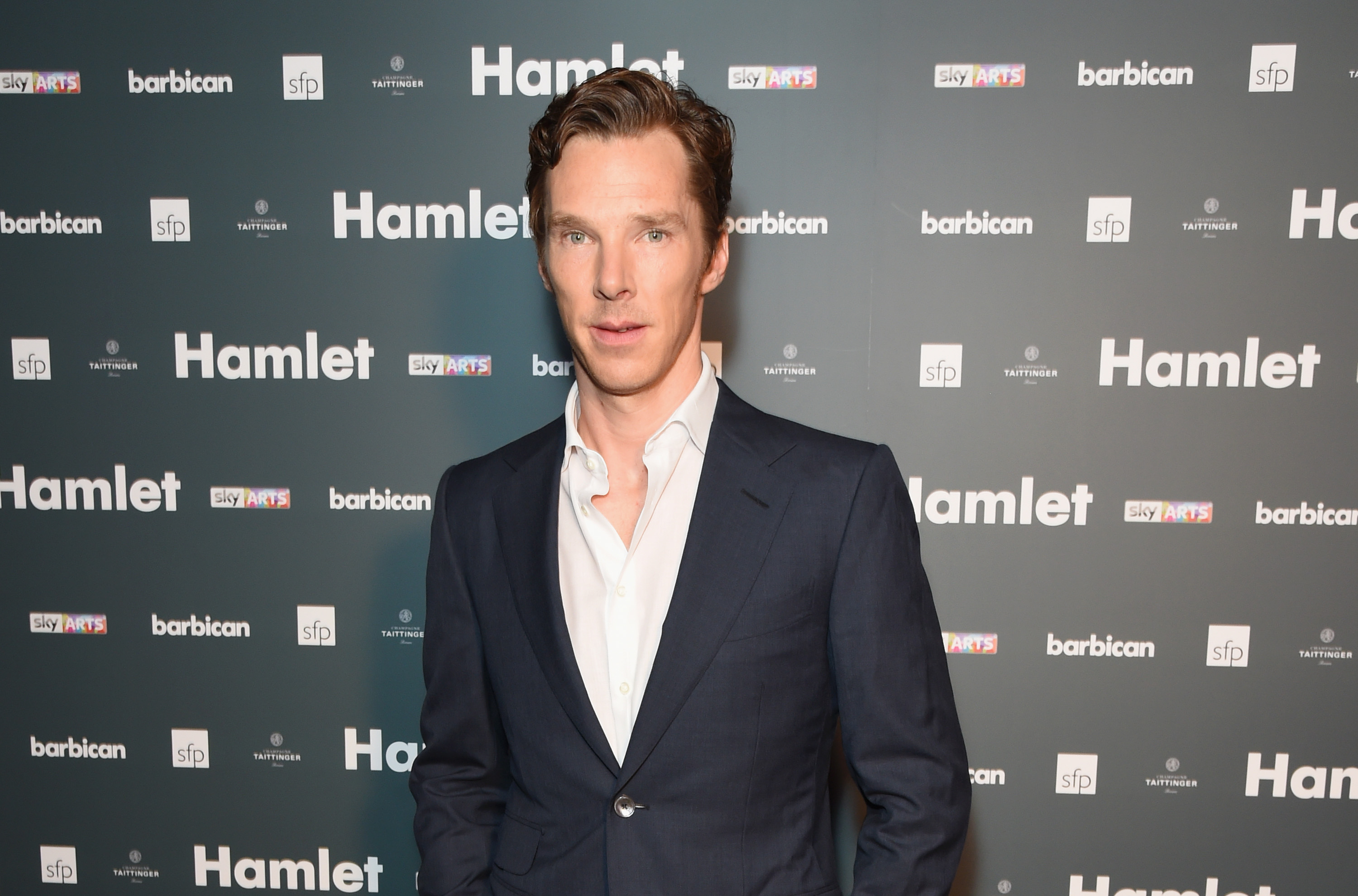 Benedict Cumberbatch on Aug. 25, 2015 in London.