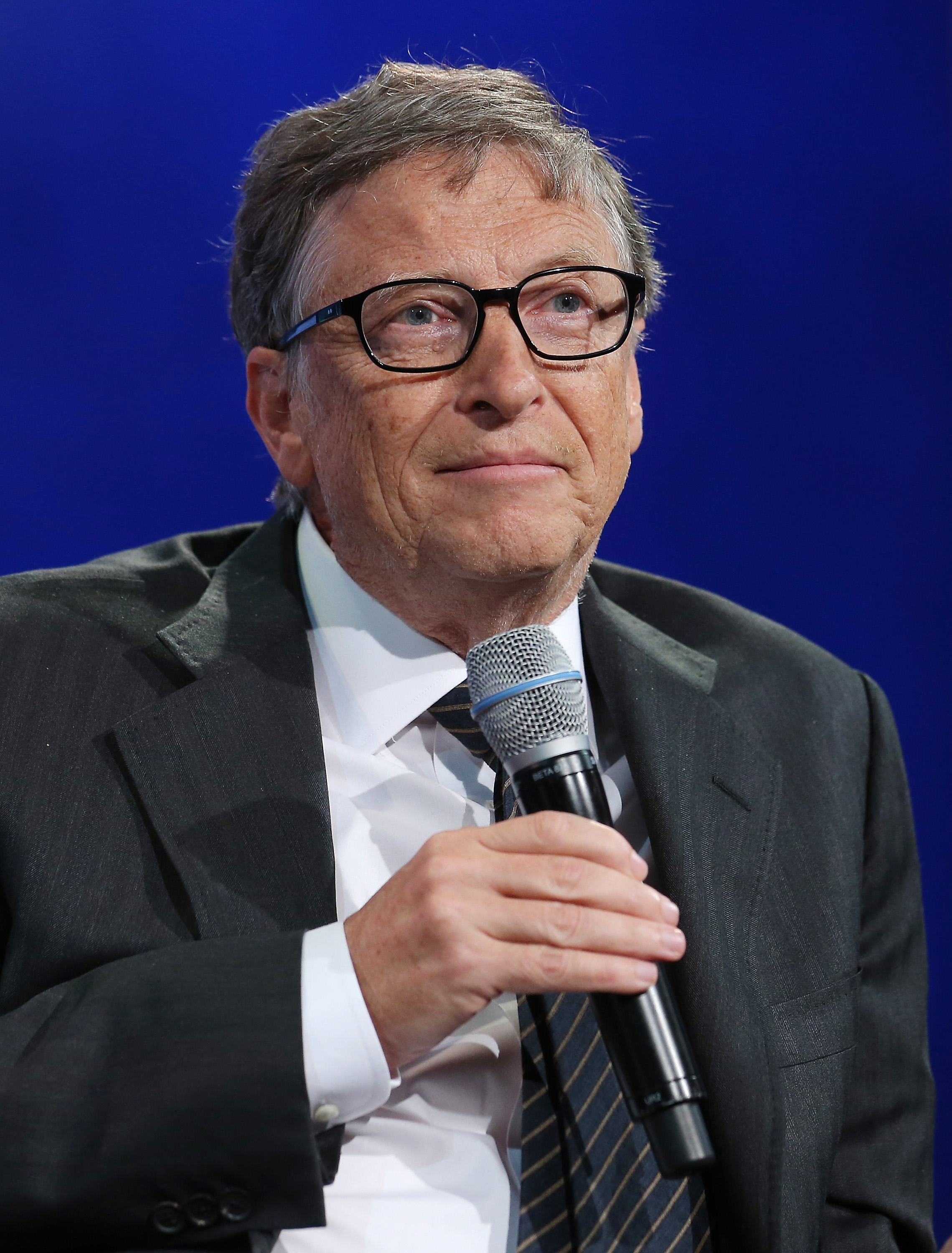 Bill Gates at the Clinton Global Initiative 2015 Annual Meeting in New York City on Sept. 27, 2015.