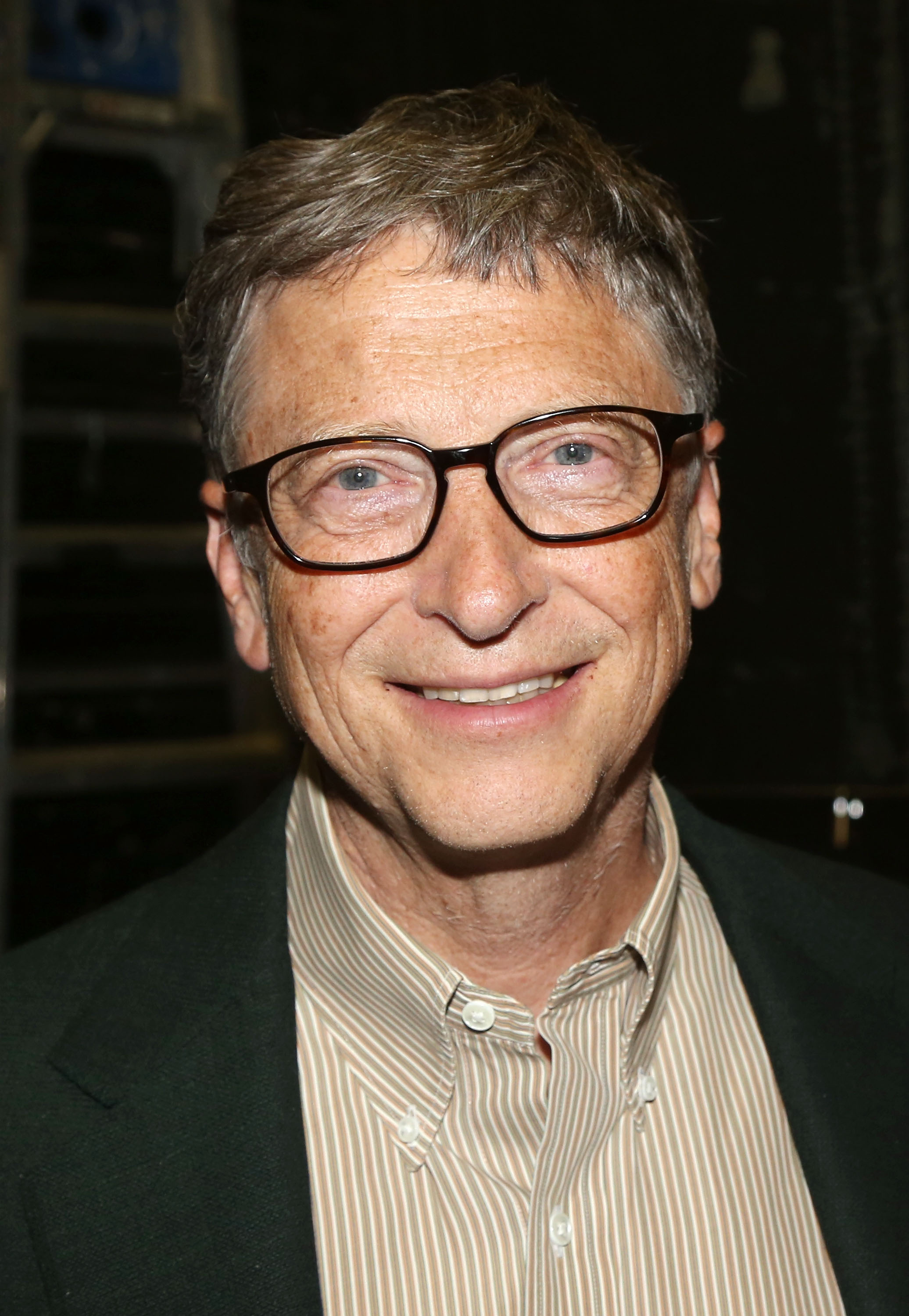 Bill Gates at musical  Hamilton  on Broadway in New York City on Oct. 11, 2015.