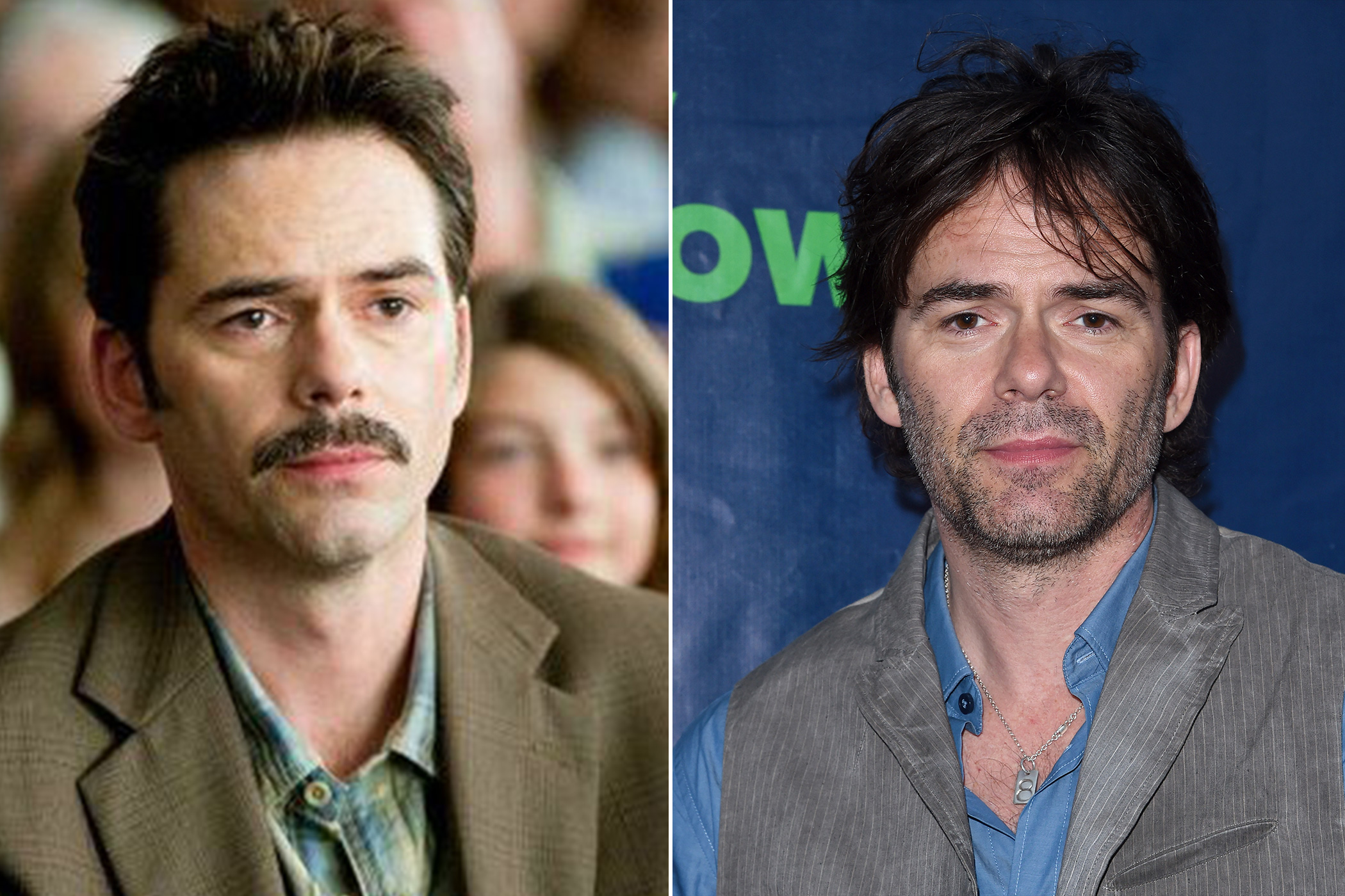 Left: Billy Burke as Charlie Swan in The Twilight Saga: Eclipse, 2010; Right: in 2015