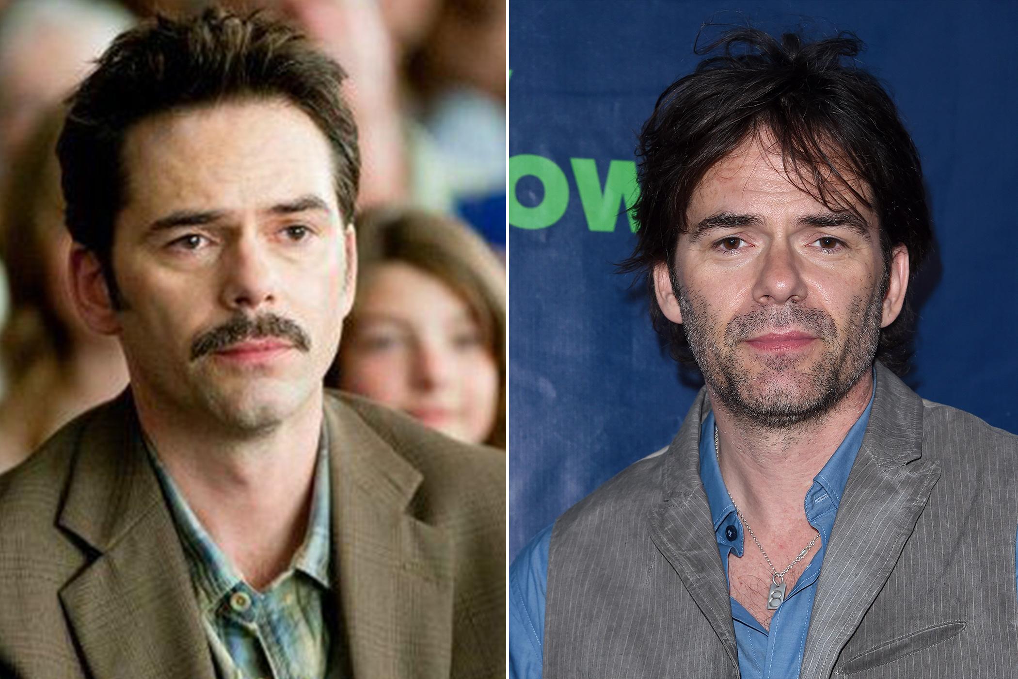 <i>Left</I>: Billy Burke as Charlie Swan in <i>The Twilight Saga: Eclipse</i>, 2010; <i>Right</i>: in 2015