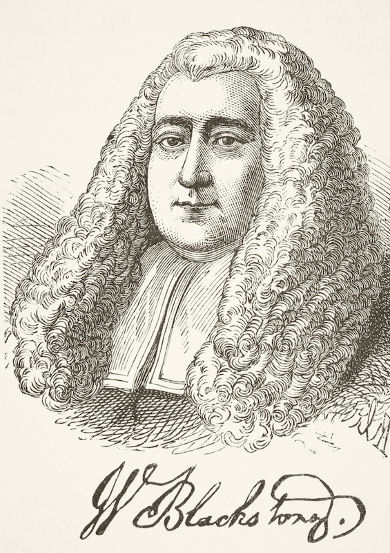 Sir William Blackstone, English jurist and professor, circa 1800