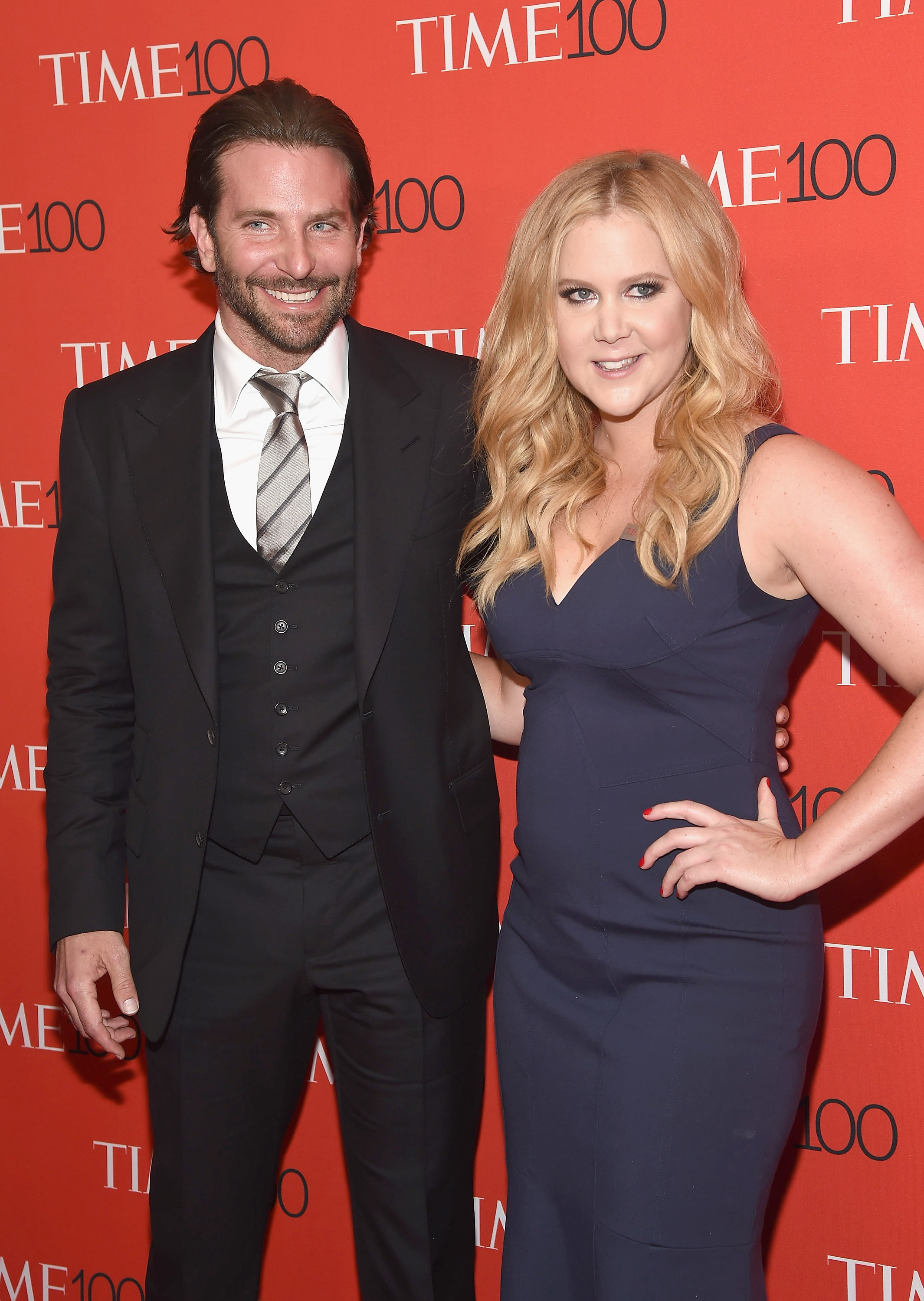Bradley Cooper and Amy Schumer at TIME 100 Gala in New York City on April 21, 2015.