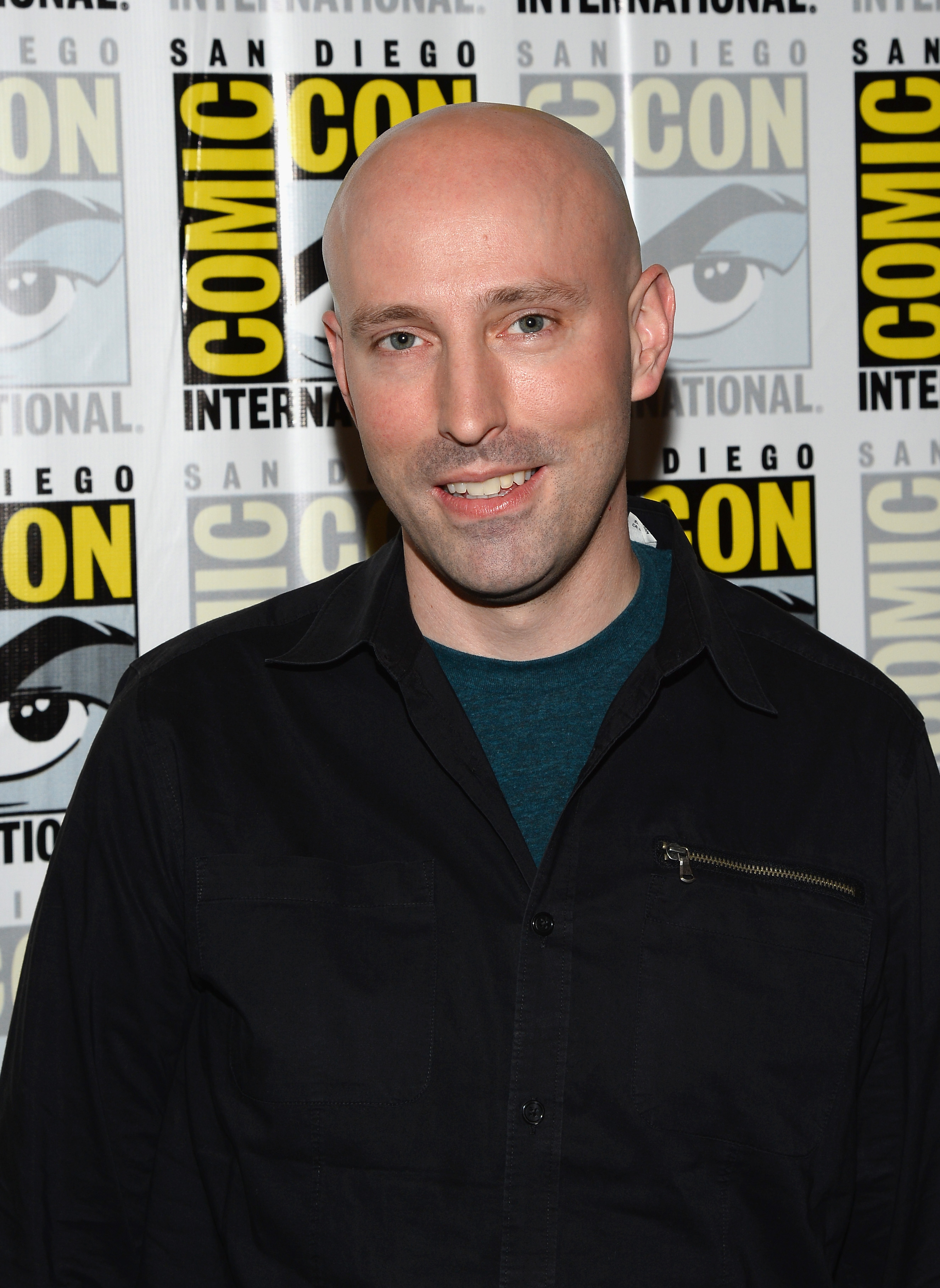 Brian K. Vaughan attends Comic-Con on July 20, 2013 in San Diego, Calif.