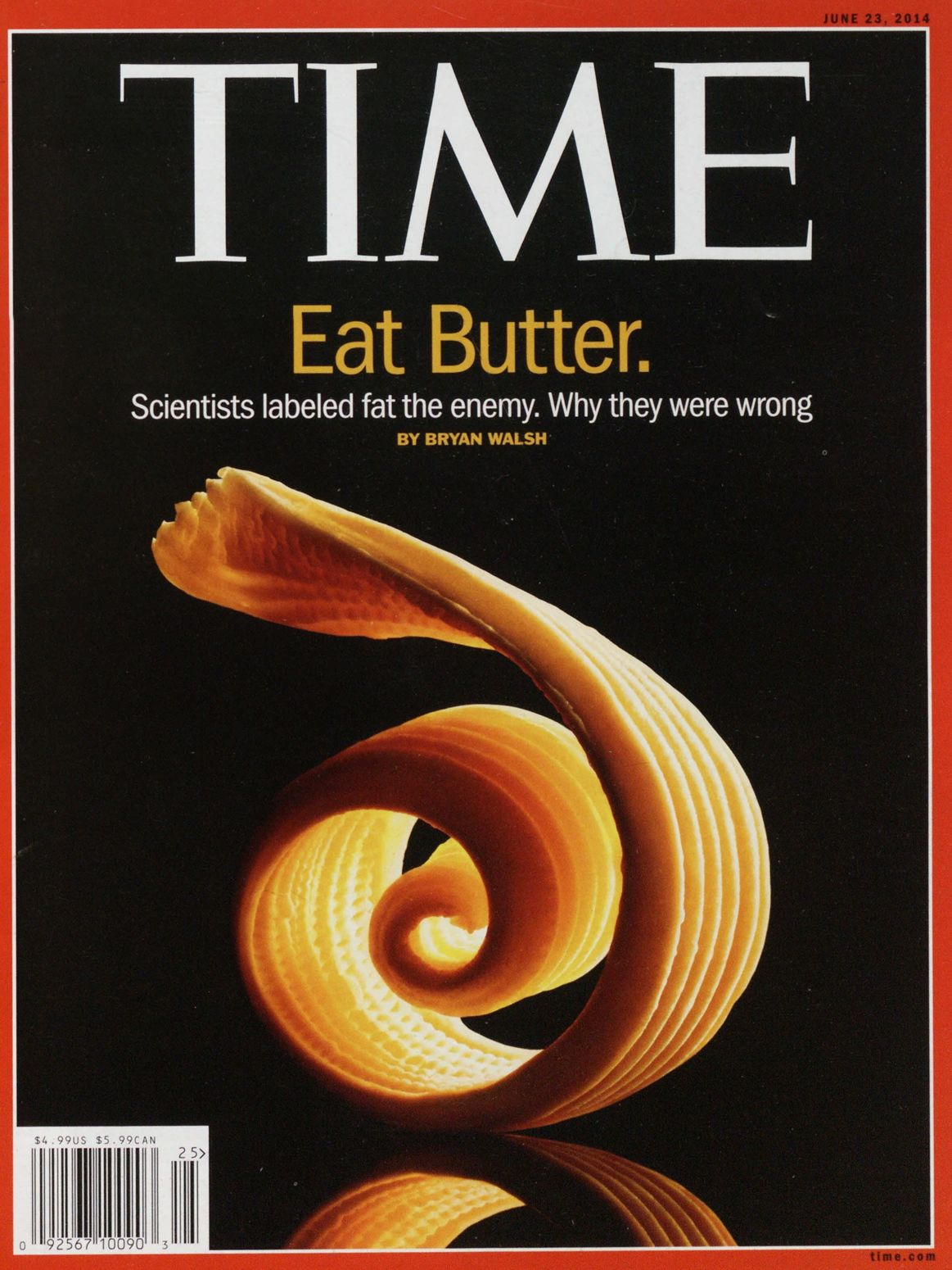 The June 23, 2014, cover of TIME