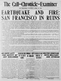 The Call-Chronicle-Examiner (San Francisco) 1906-04-19 [p 1]