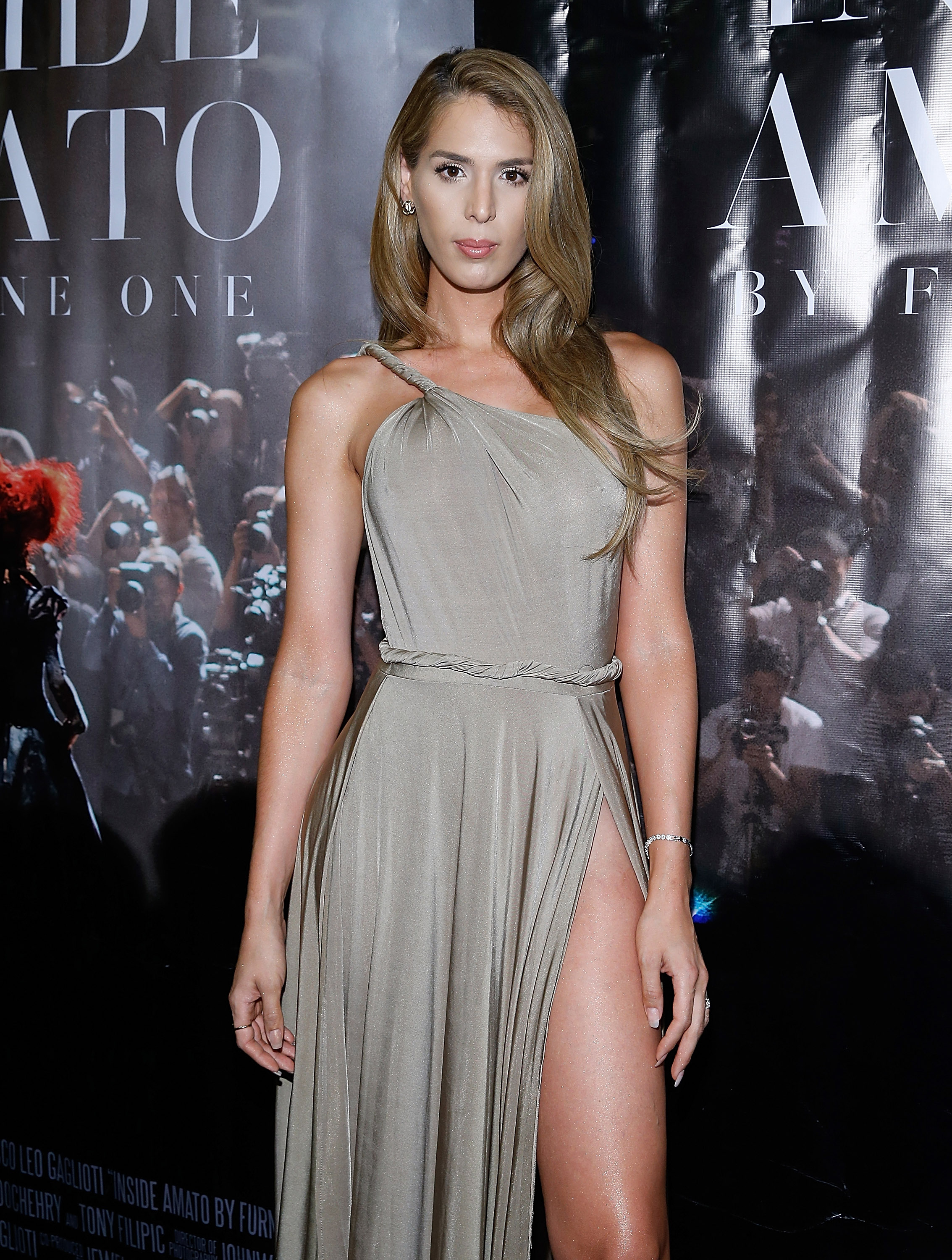 Carmen Carrera is seen on Sept. 16, 2015 in New York City.