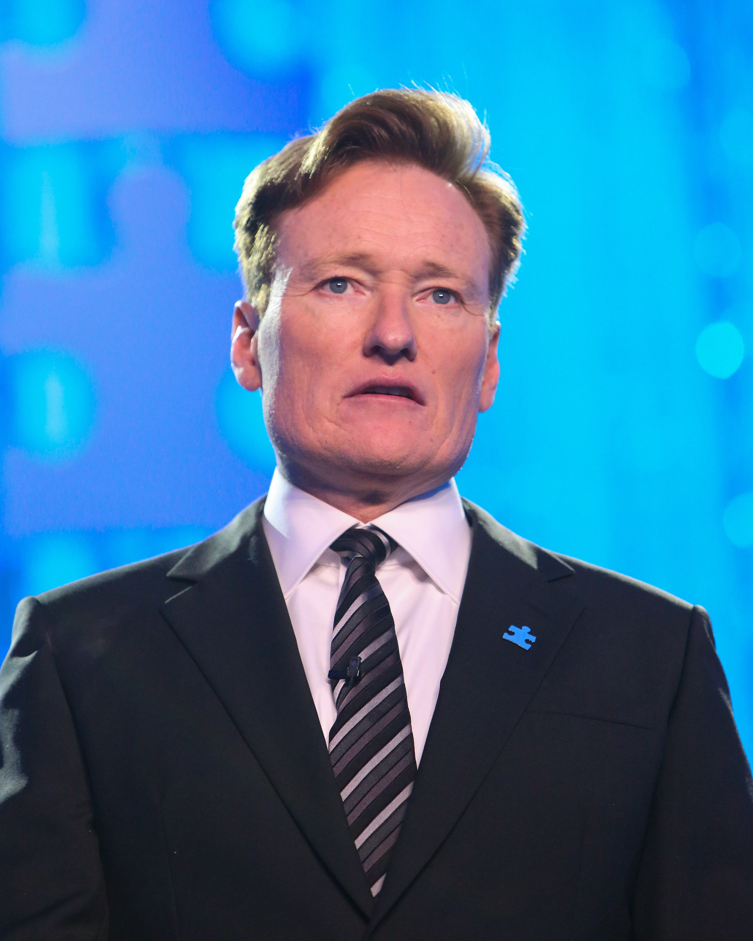 Conan O'Brien at the Autism Speaks To Los Angeles Celebrity Chef Gala in Santa Monica, Calif. on Oct. 8, 2015.
