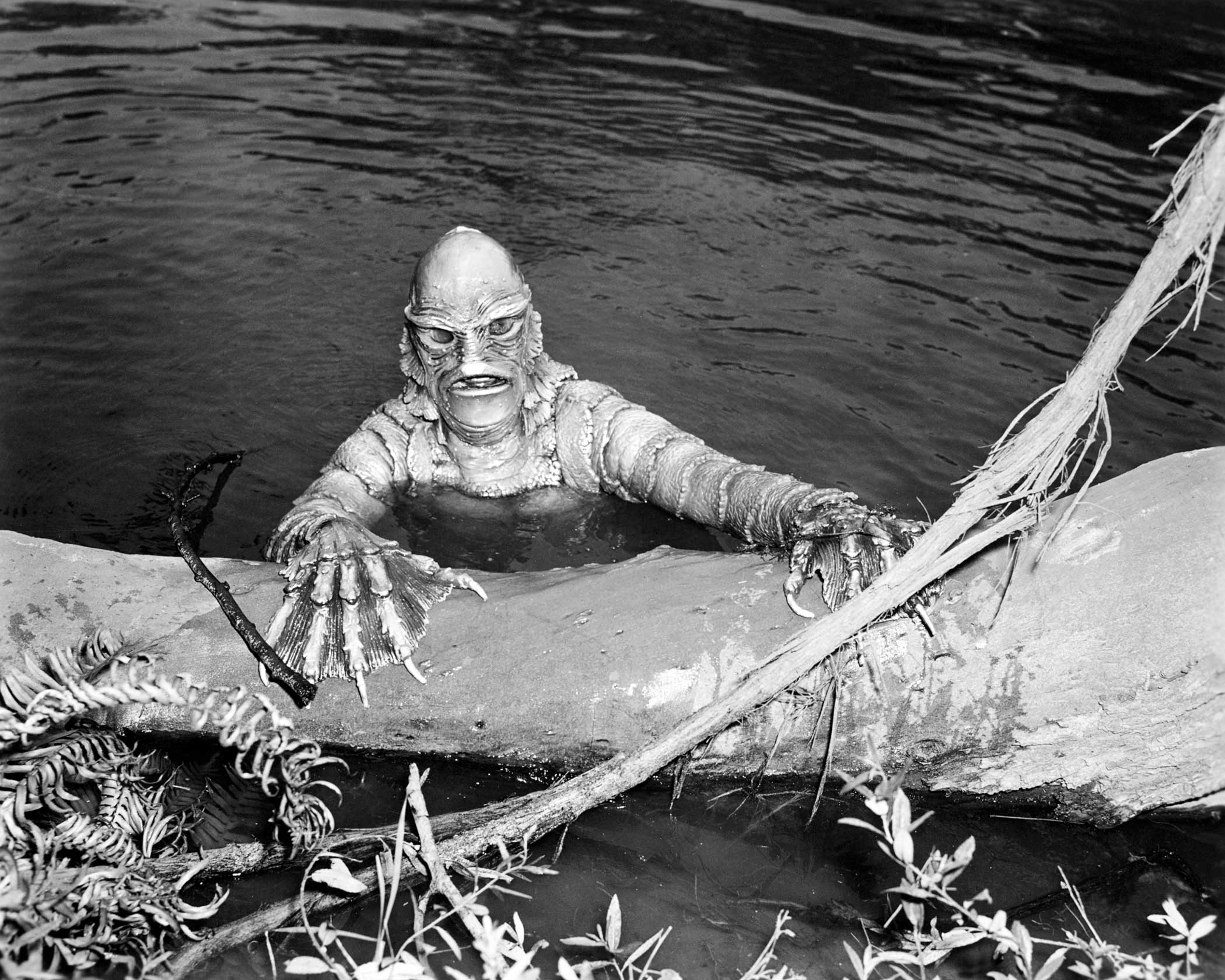 Gill-man from Creature from the Black Lagoon, 1954.