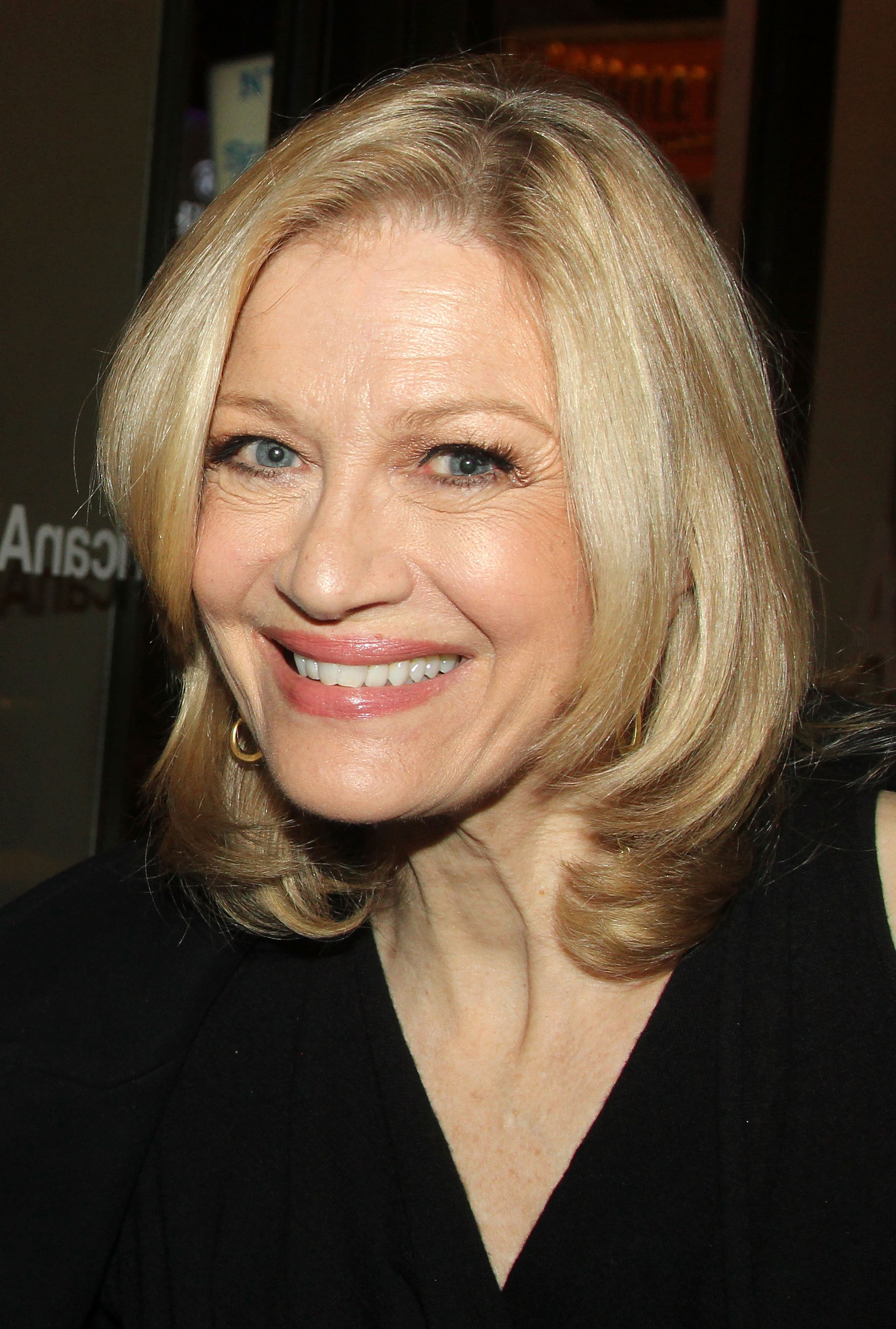 Diane Sawyer at The Opening Night of  The Real Thing  in New York City on Oct. 30, 2014.