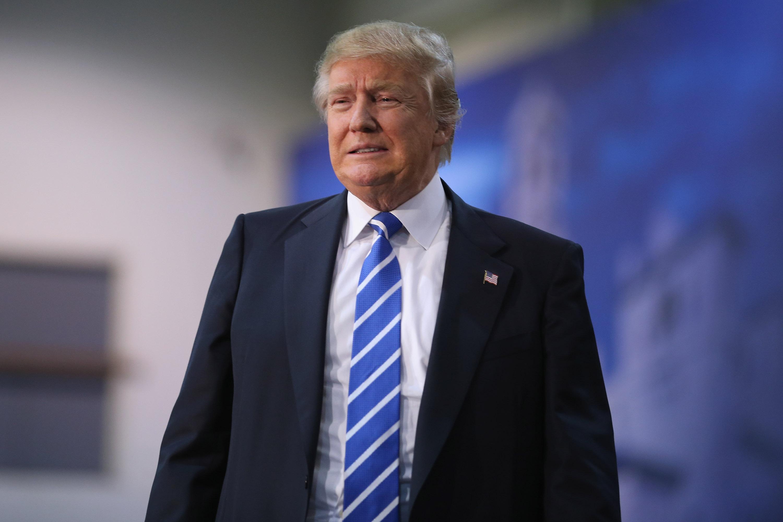 Donald Trump on Oct. 14, 2015 in Richmond, Va.