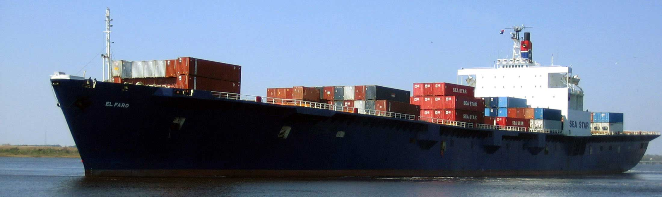 The cargo ship, El Faro.