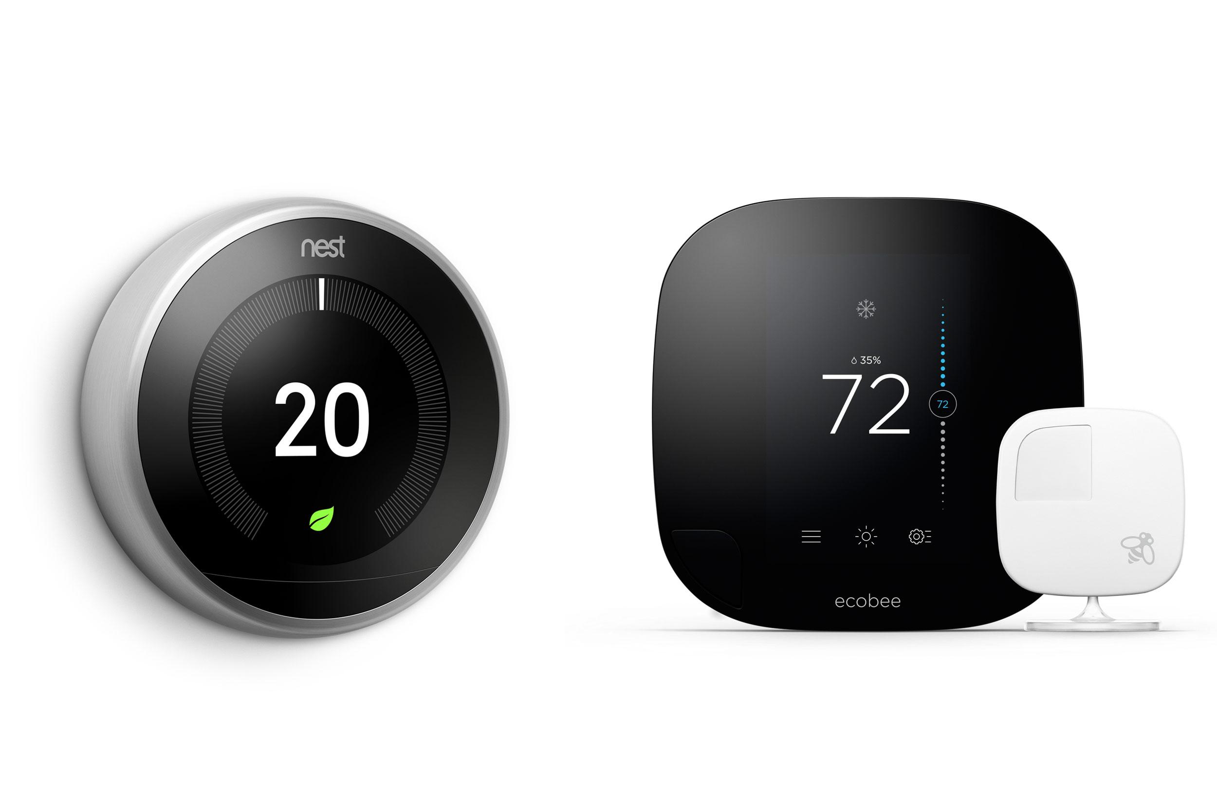 Smart Thermostats  Nest Vs  Ecobee3