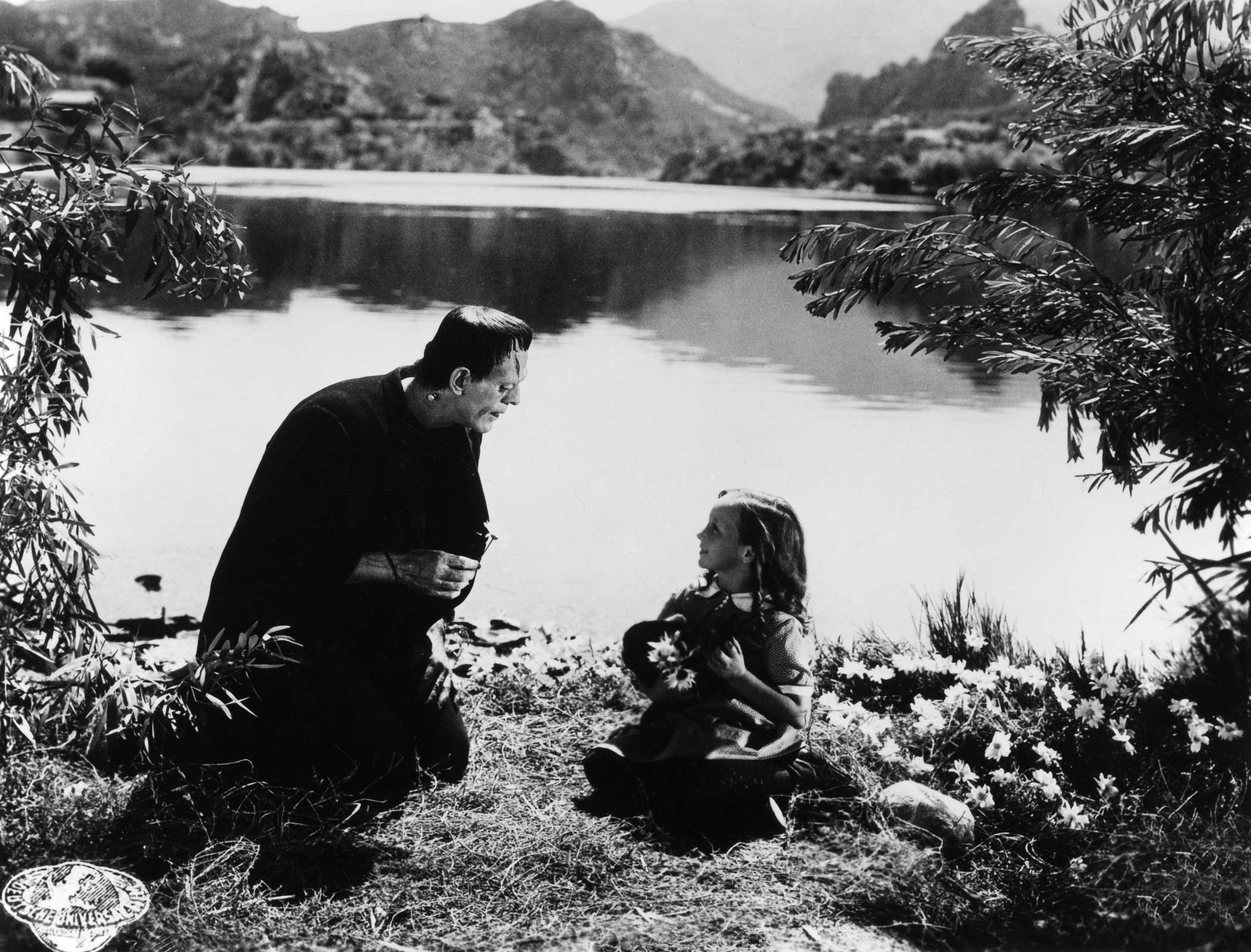 Frankenstein's Monster from Frankenstein, 1931.