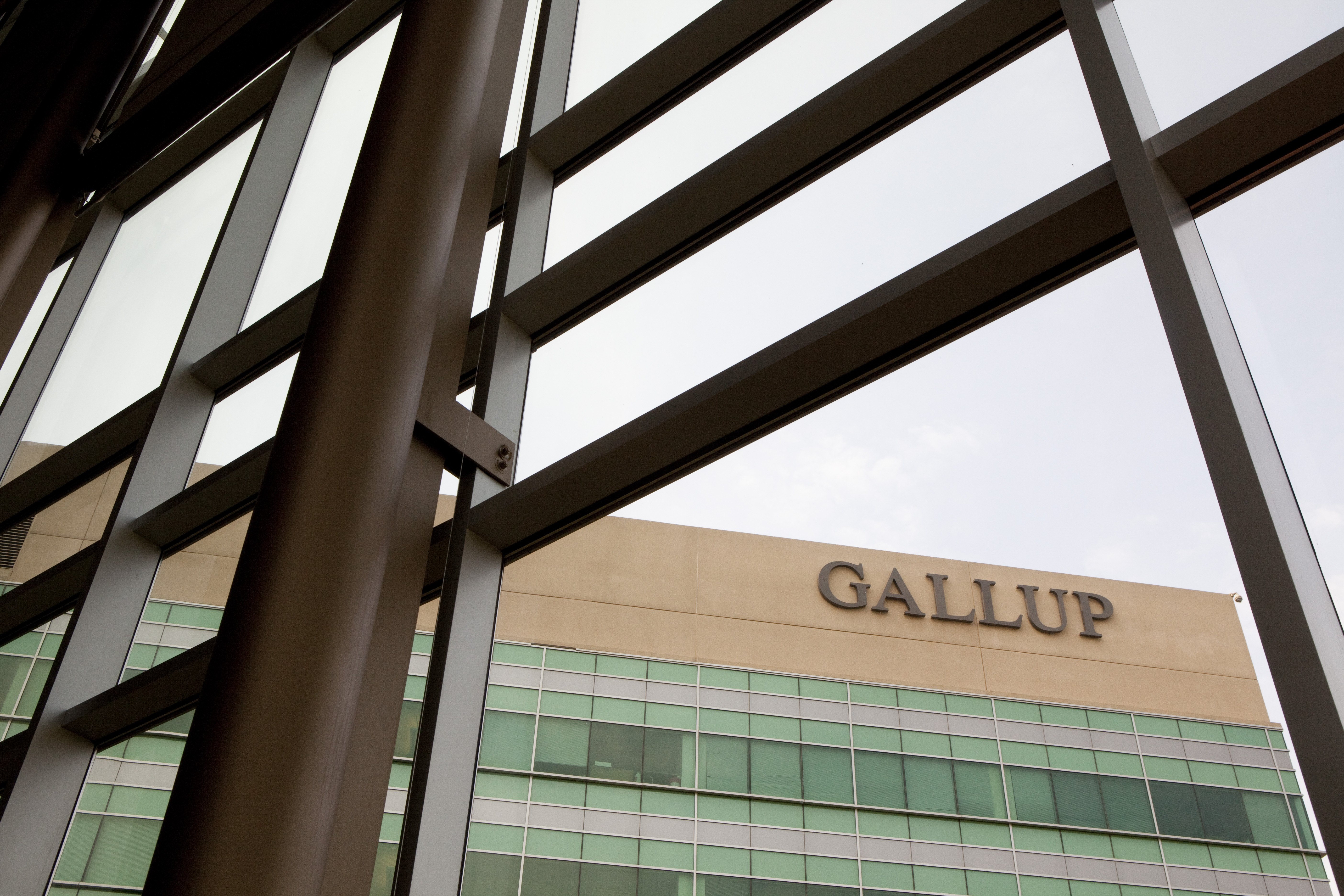 The operations headquarters of the Gallup organization on June 7, 2012 in Omaha, Nebraska.