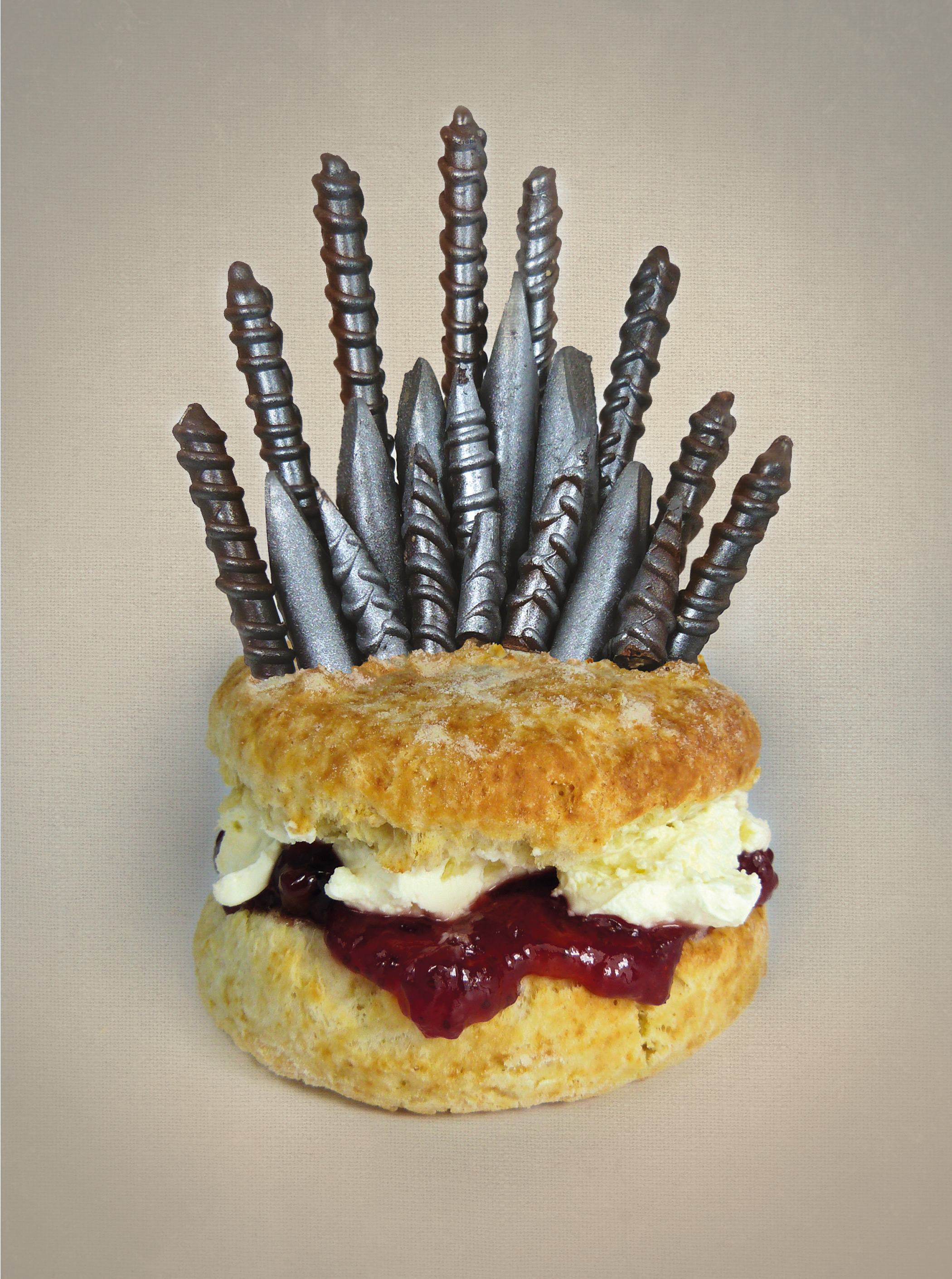 The Iron Scone from the book  Games of Scones