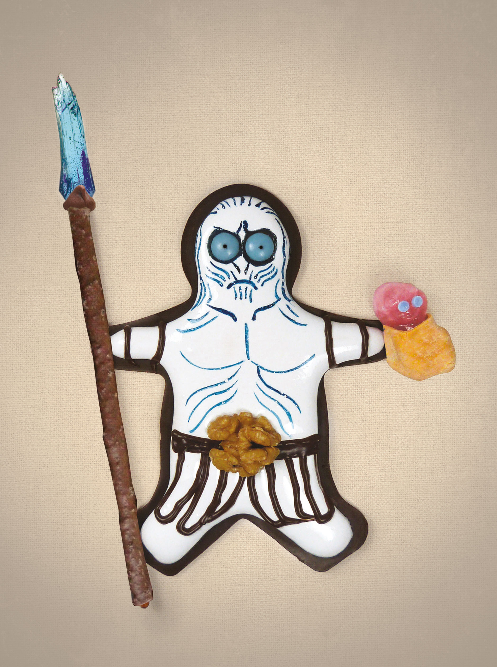 White Walker Walnut Whip from the book  Games of Scones