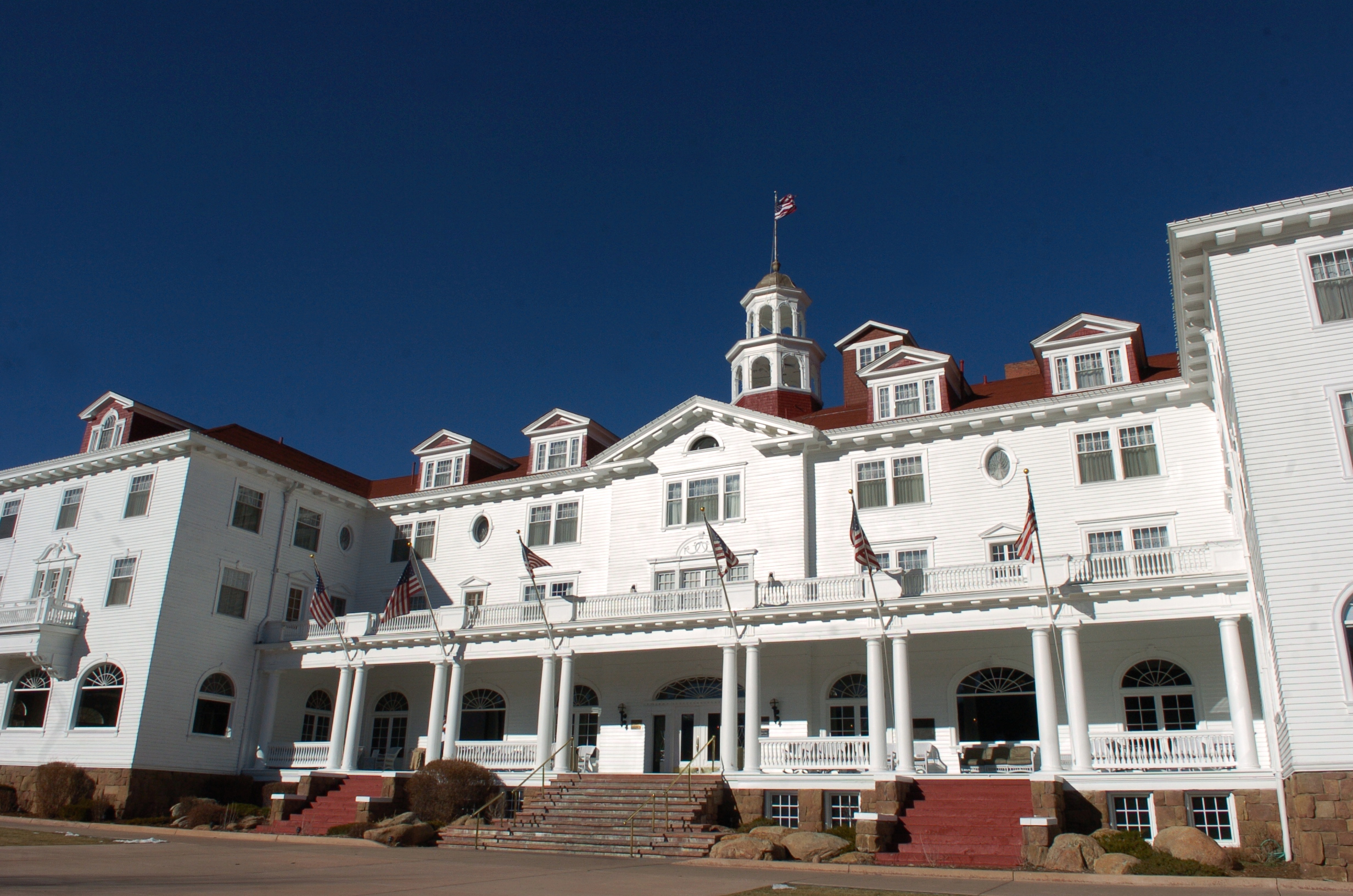 The Stanley Hotel in Estes Park, Colo.