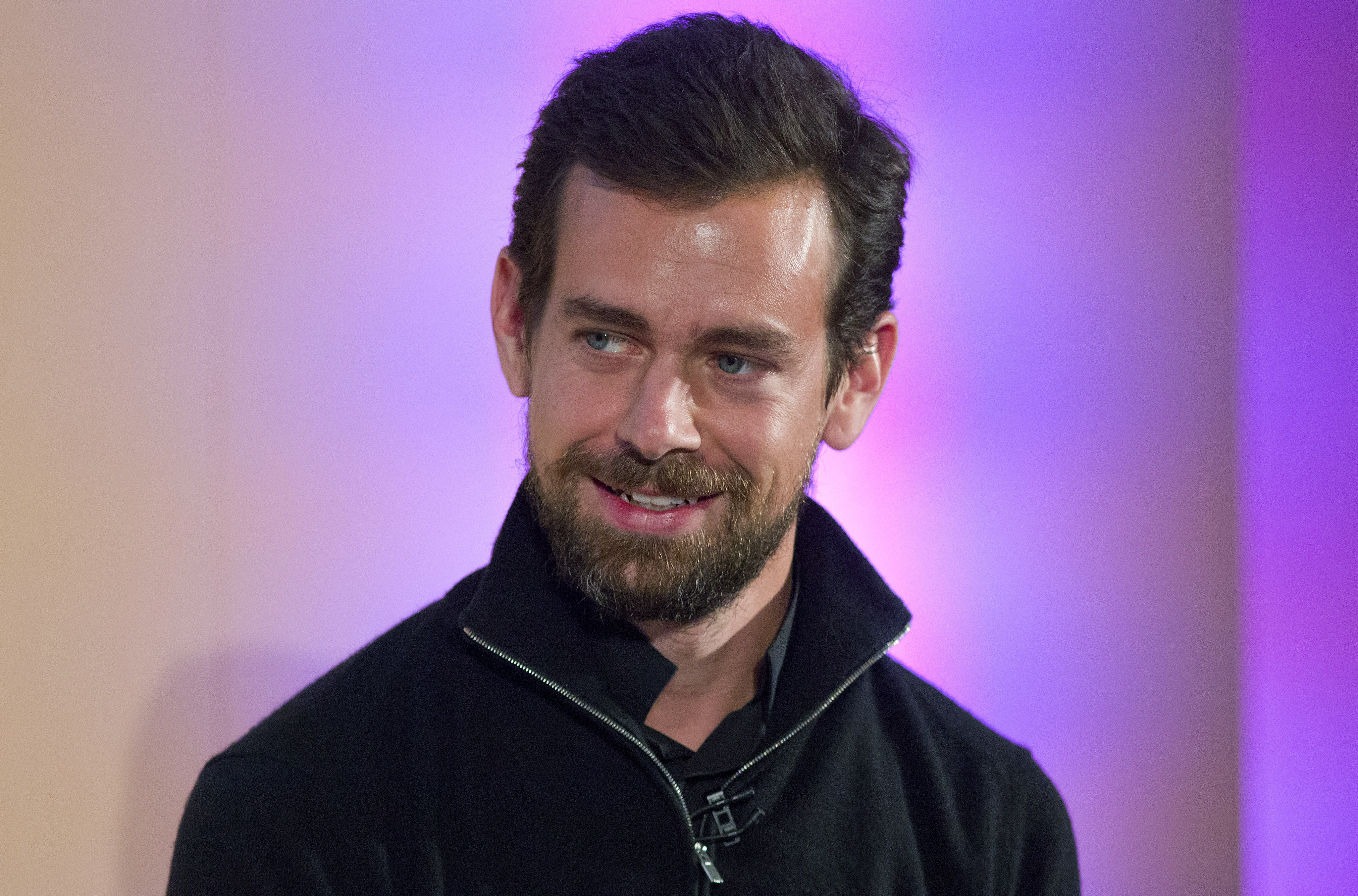 Jack Dorsey, CEO of Twitter, holds an event in London on Nov. 20, 2014.