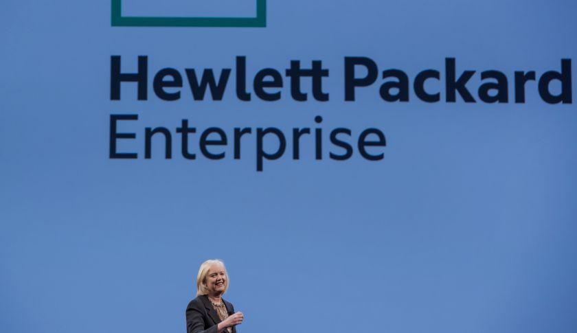 Meg Whitman, chief executive officer of Hewlett-Packard.