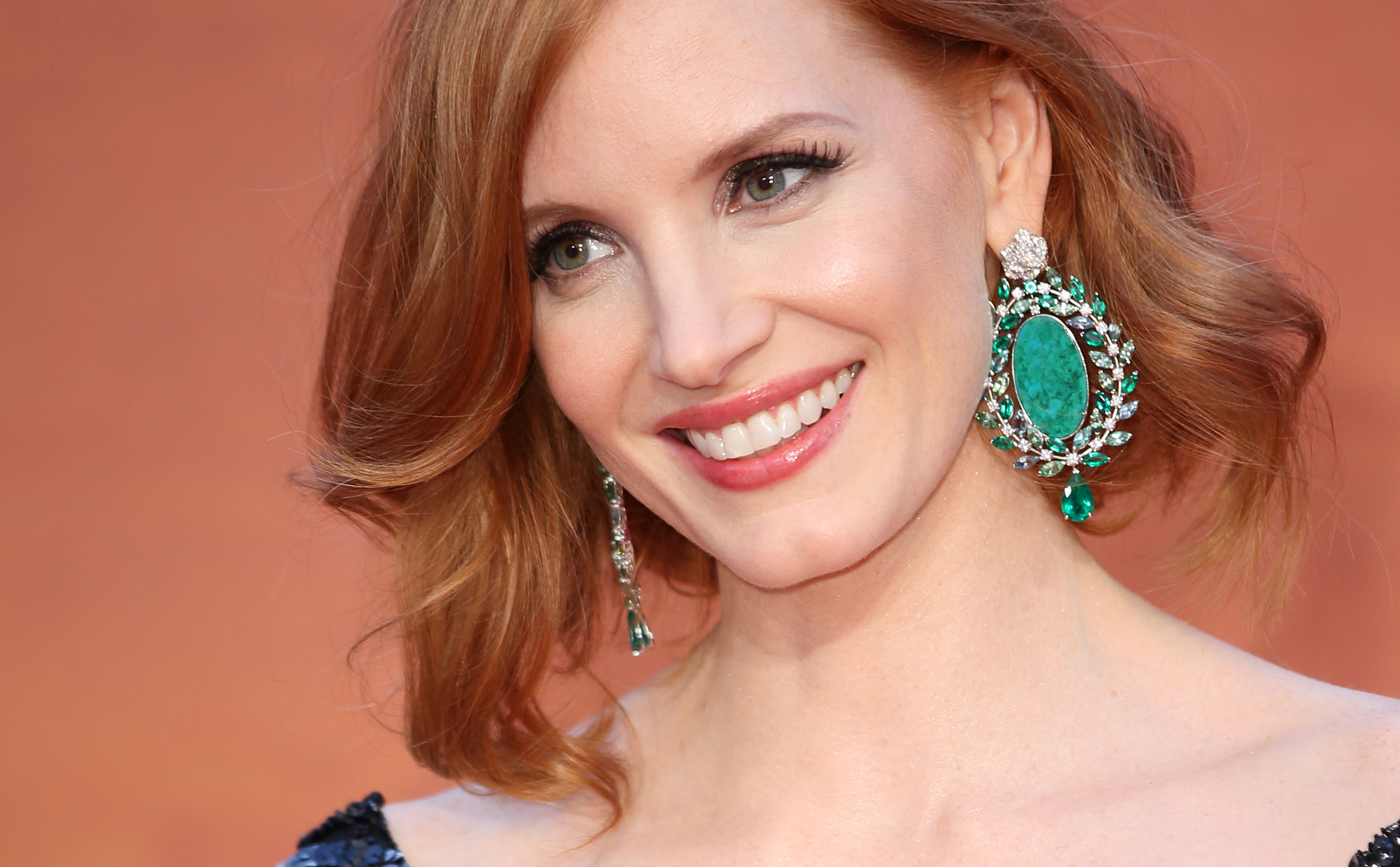 Jessica Chastain attends the European premiere of  The Martian  at Odeon Leicester Square on Sept. 24, 2015 in London.