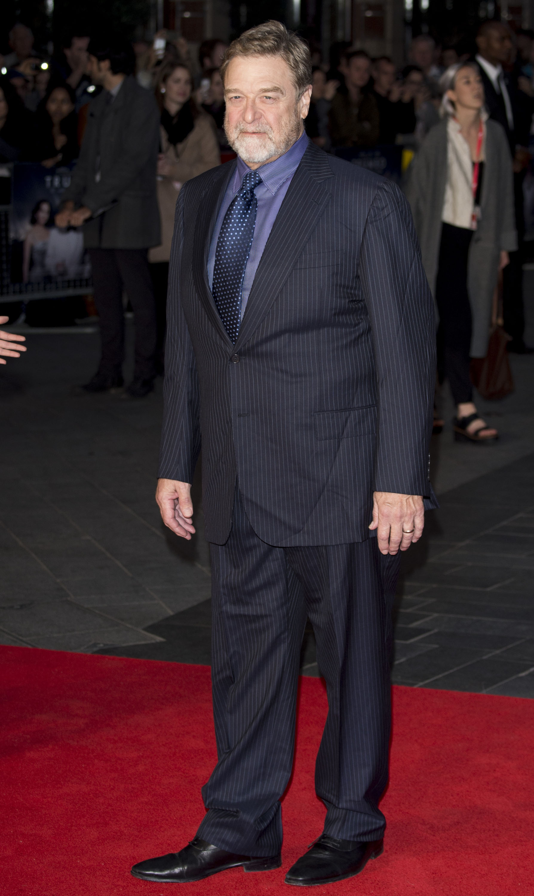 John Goodman attends the 'Trumbo' Accenture Gala during the BFI London Film Festival at Odeon Leicester Square on Oct. 8, 2015 in London.