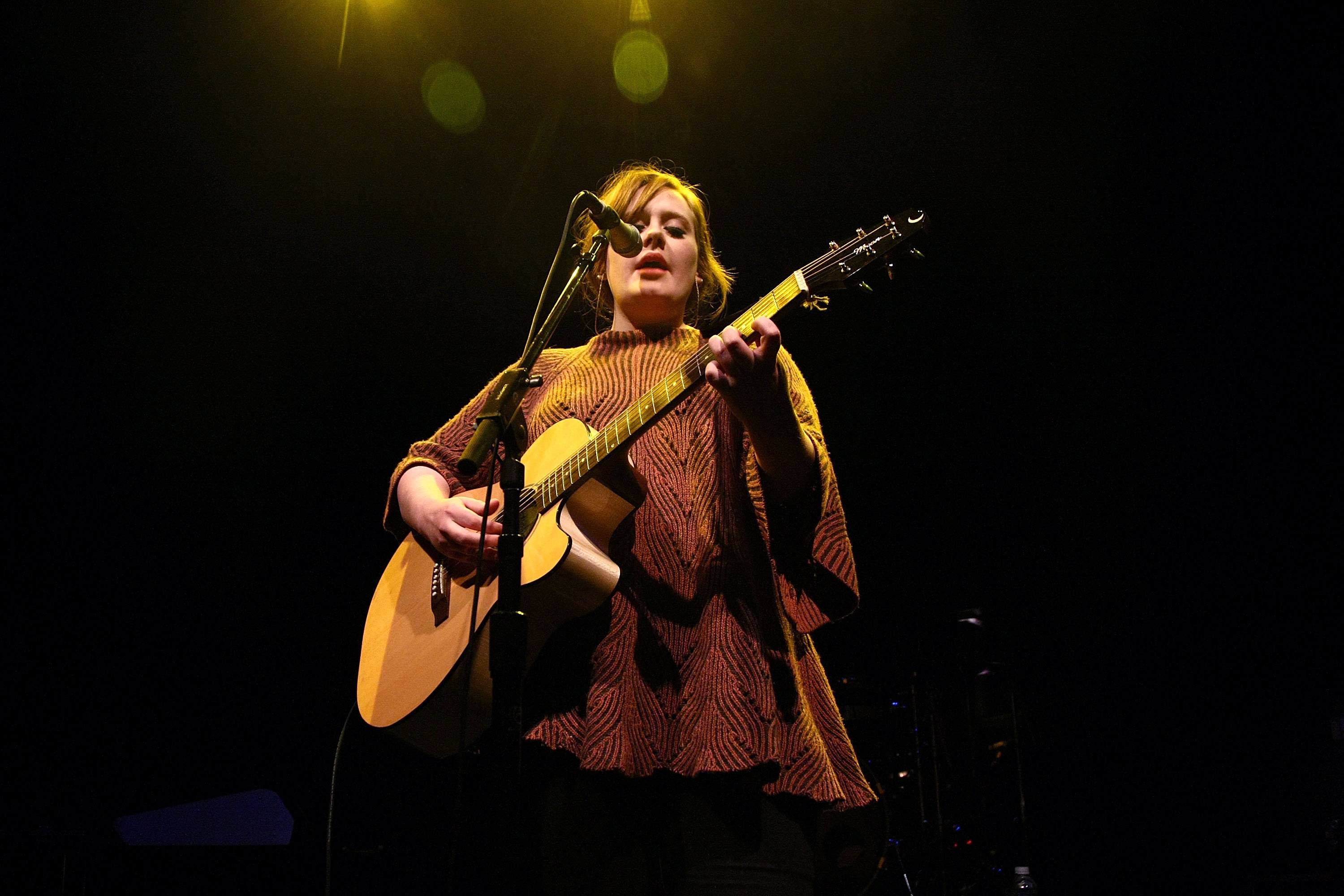 Adele performs at the 9:30 Club in Washington on Jan. 17, 2009.
