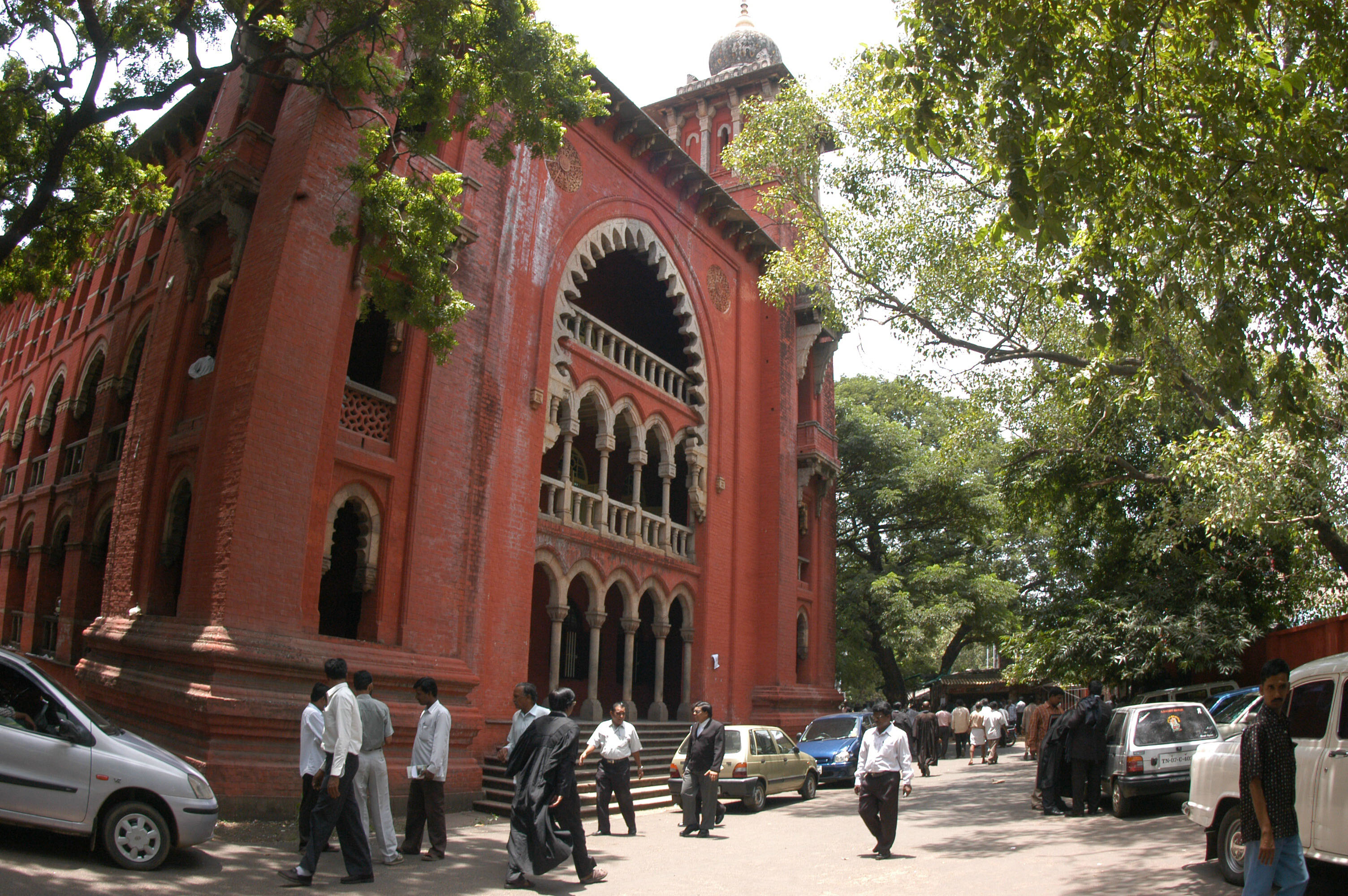 View of the Chennai High Court in Chennai, Tamil Nadu, India on Sept. 6, 2006.