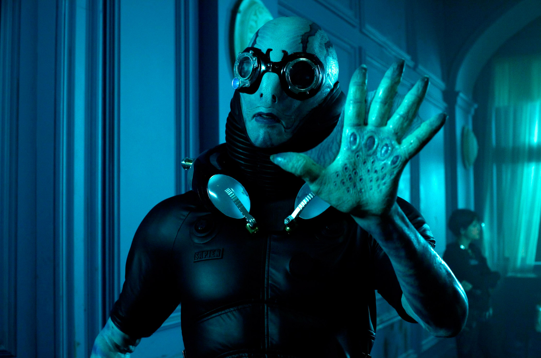 Doug Jones as Abe Spaien in Hellboy II: The Golden Army, 2008.
