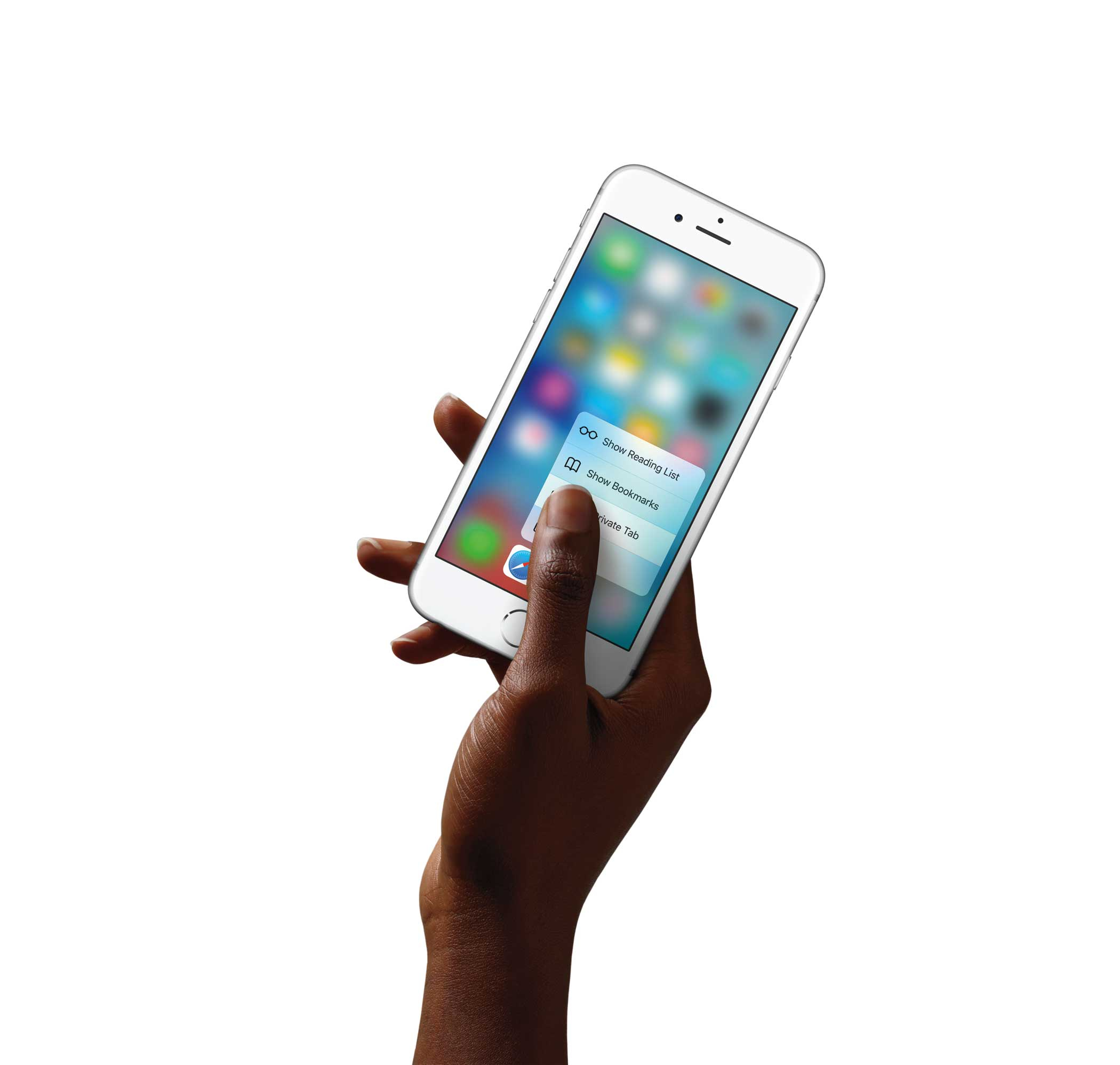 The new iphone has Force Touch