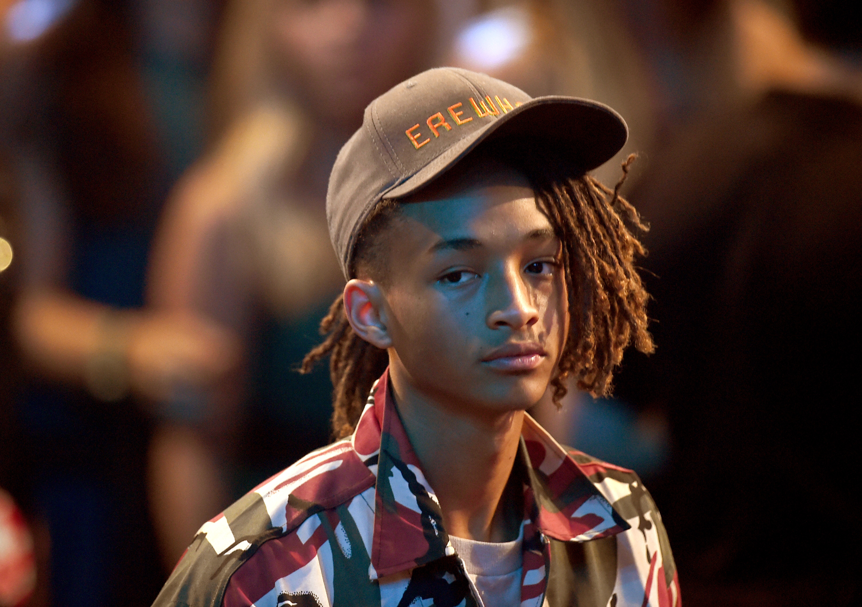 Jaden Smith attends the 2015 MTV Video Music Awards in Los Angeles, CA on Aug. 30, 2015.