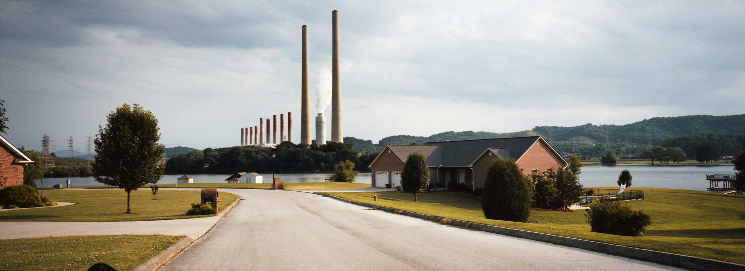 Kingston Fossil Plant on Watts Bar Lake, Tennessee. June 5th 2012