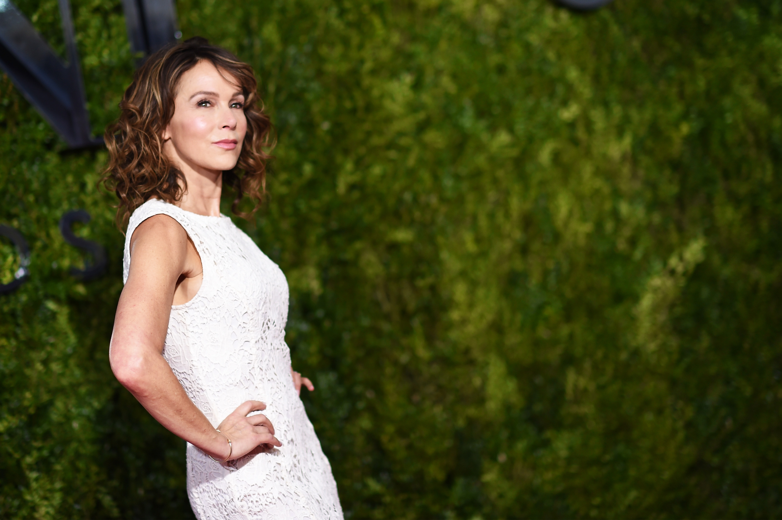 Jennifer Grey attends the 2015 Tony Awards at Radio City Music Hall on June 7, 2015 in New York City.
