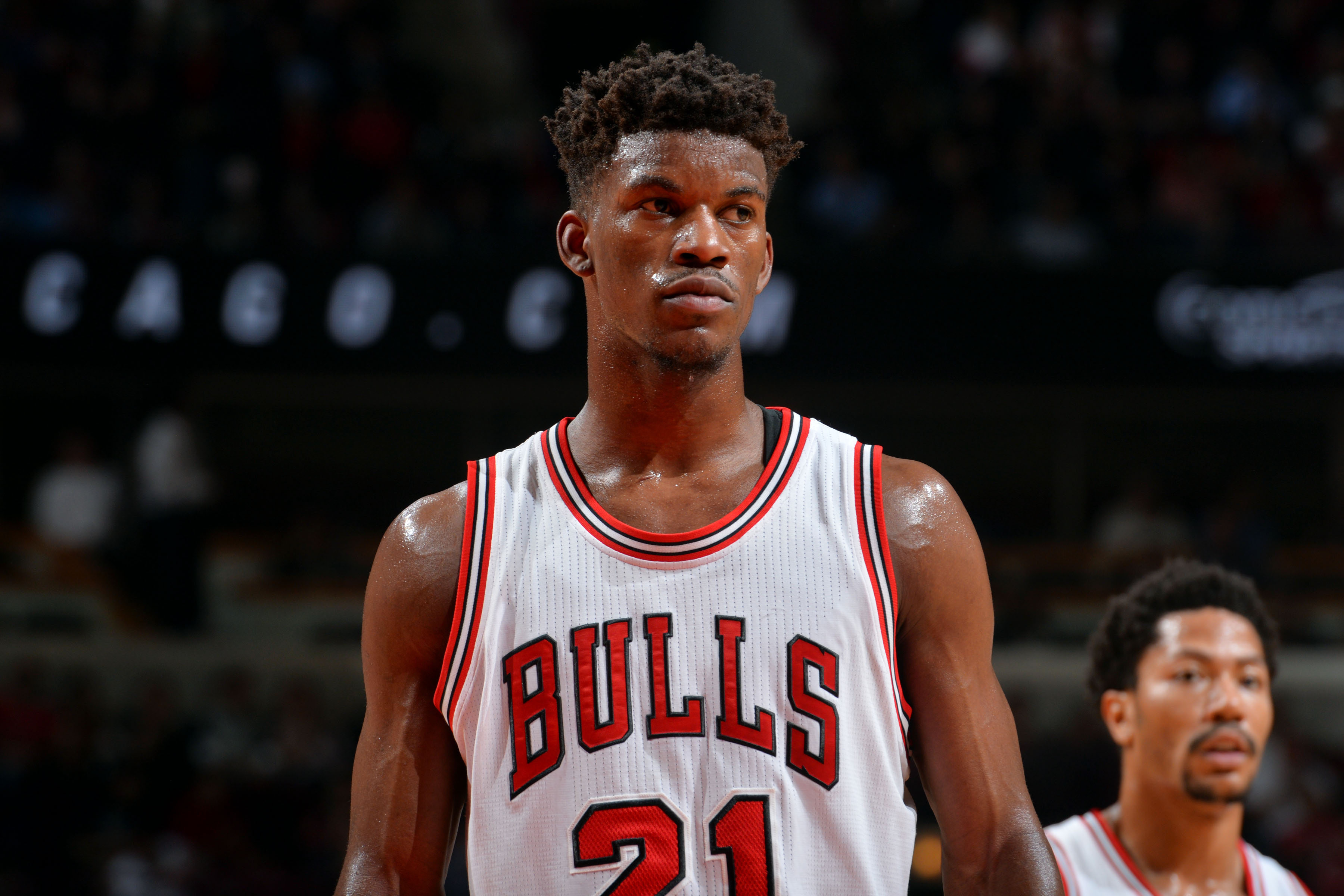 Jimmy Butler of the Chicago Bulls on May 14, in Chicago.