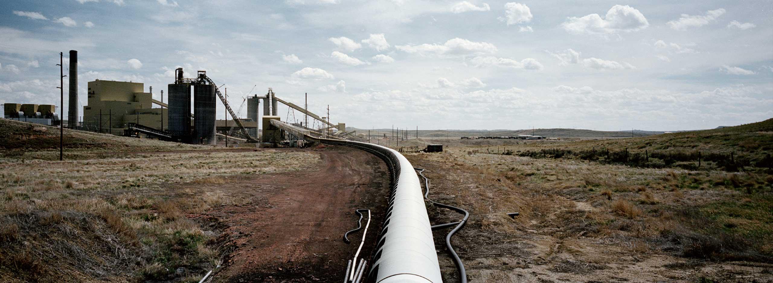Power plant, Wyoming, 2014