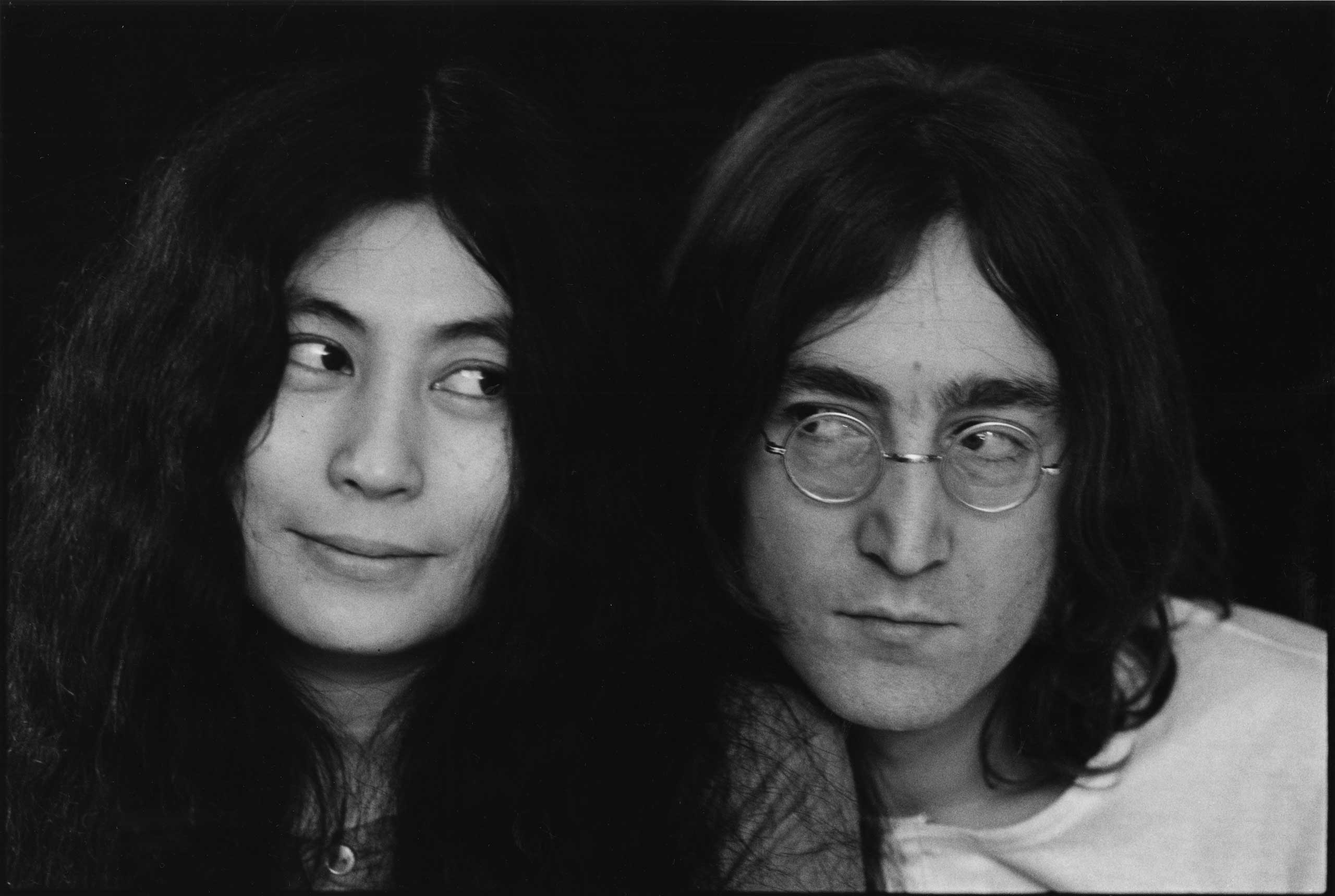 Yoko Ono and John Lennon in 1968.