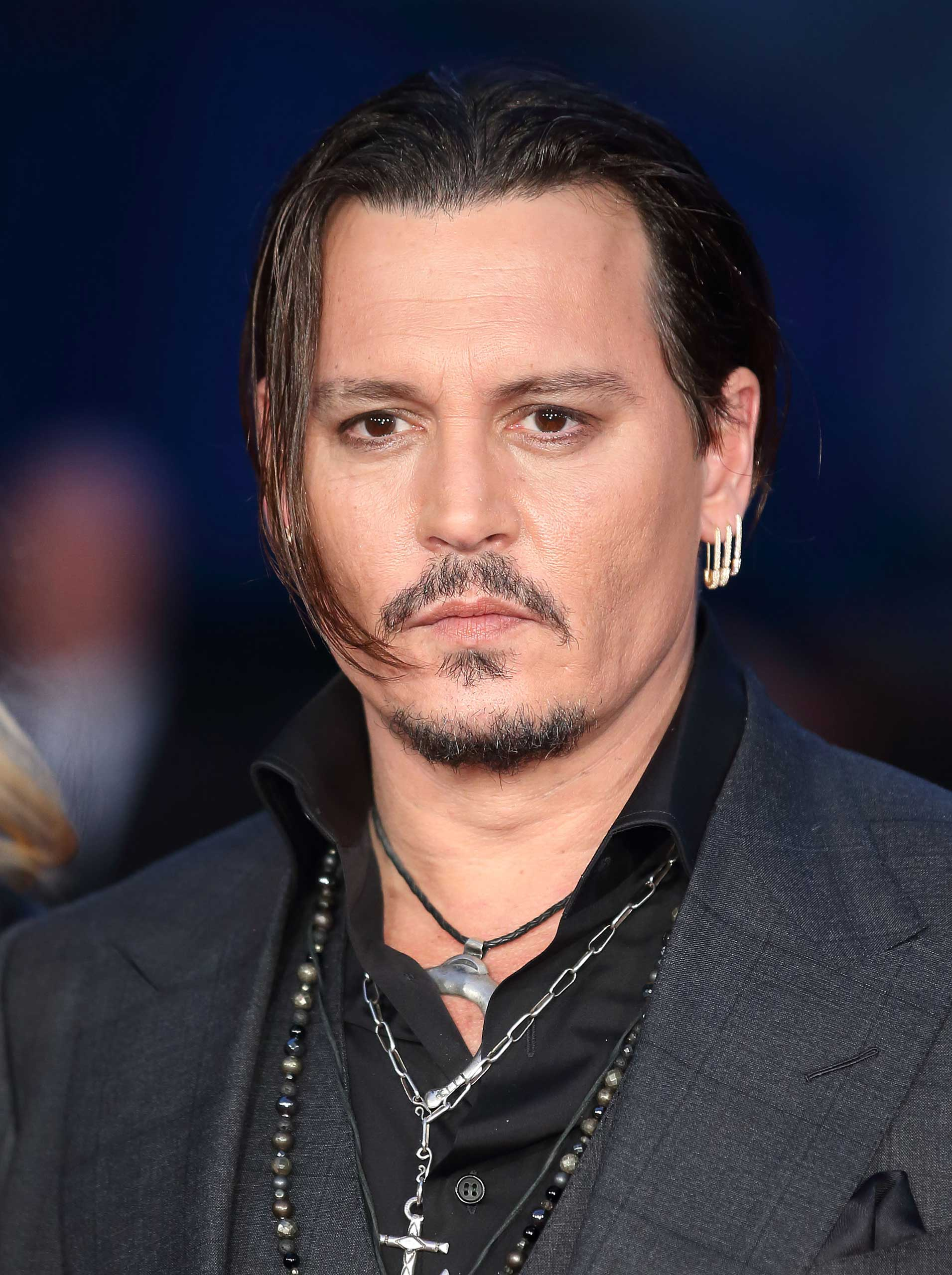 Johnny Depp attends a screening of  Black Mass  during the BFI London Film Festival at Odeon Leicester Square in London, on Oct. 11, 2015.