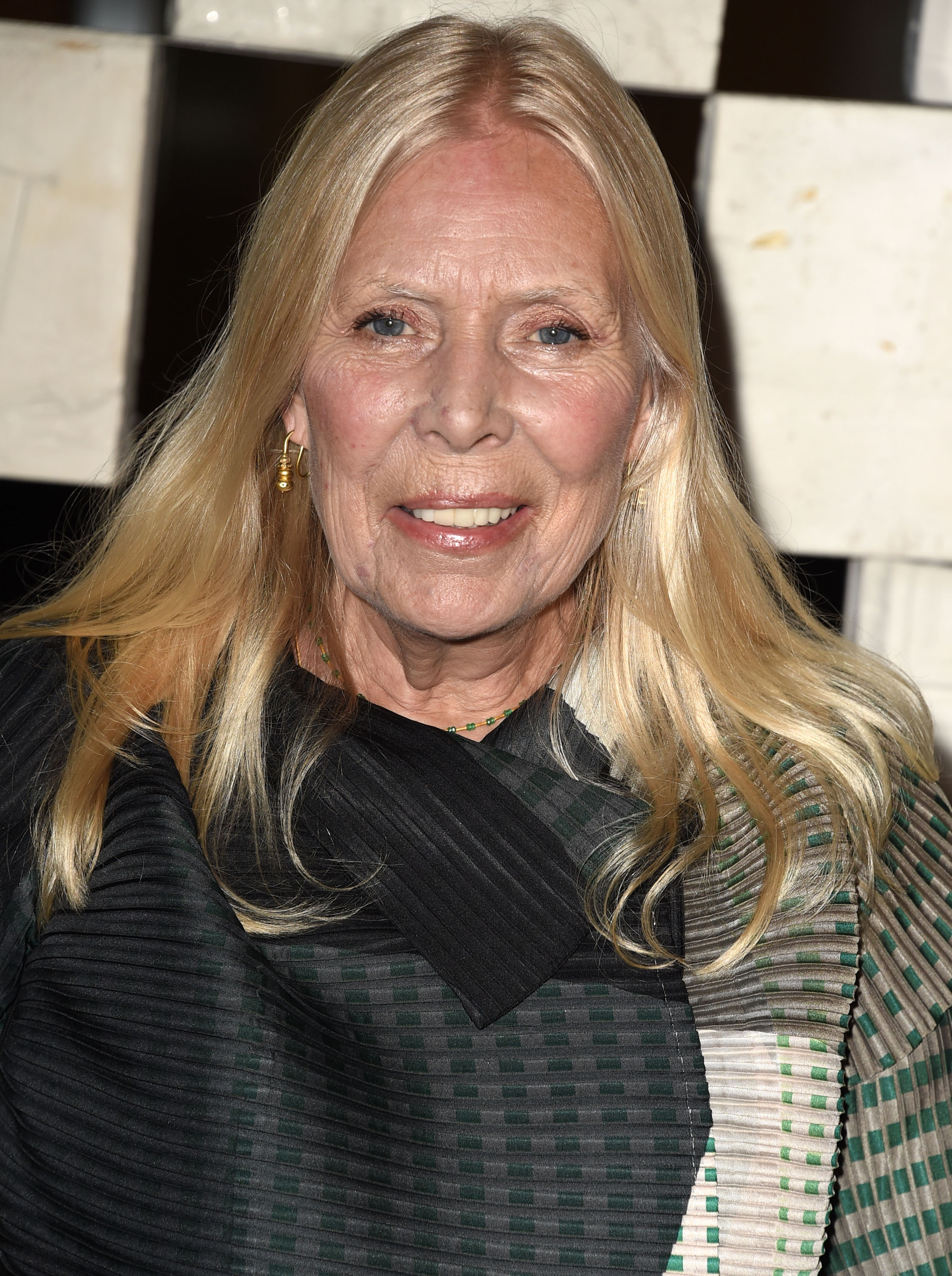 Joni Mitchell on October 11, 2014 in Westwood, Calif.