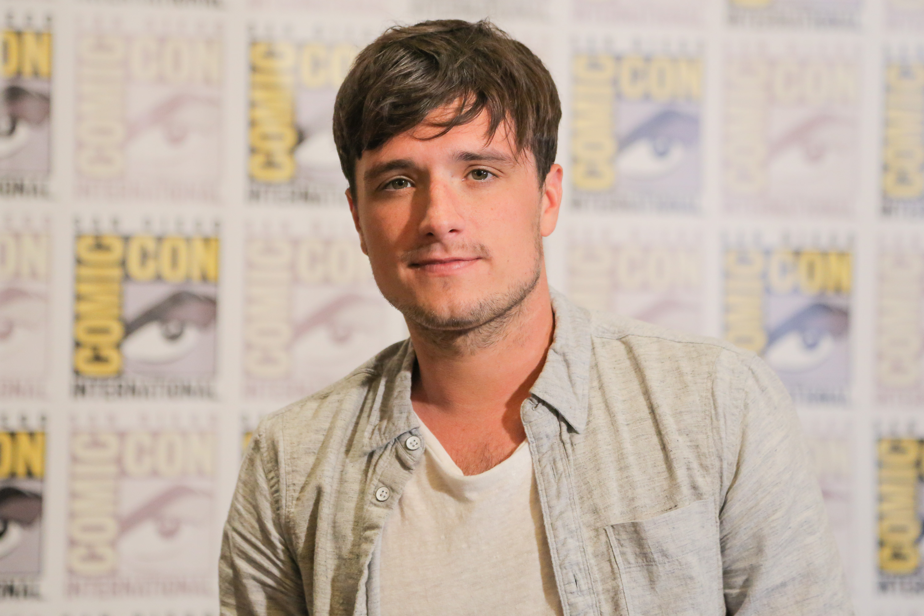 Josh Hutcherson attends Comic-Con International in July 2015 in San Diego, California.