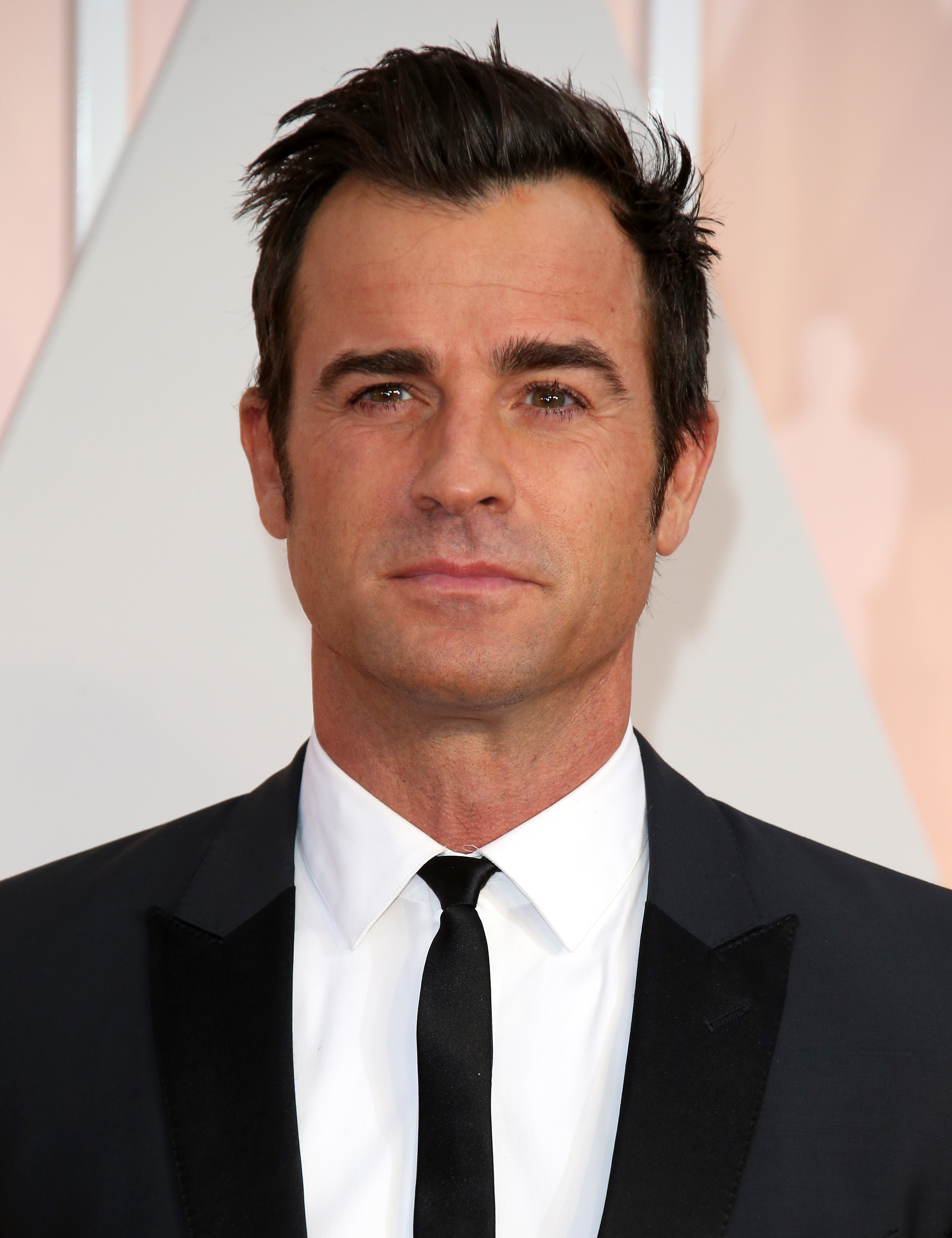 Justin Theroux at the 87th Annual Academy Awards in Los Angeles.