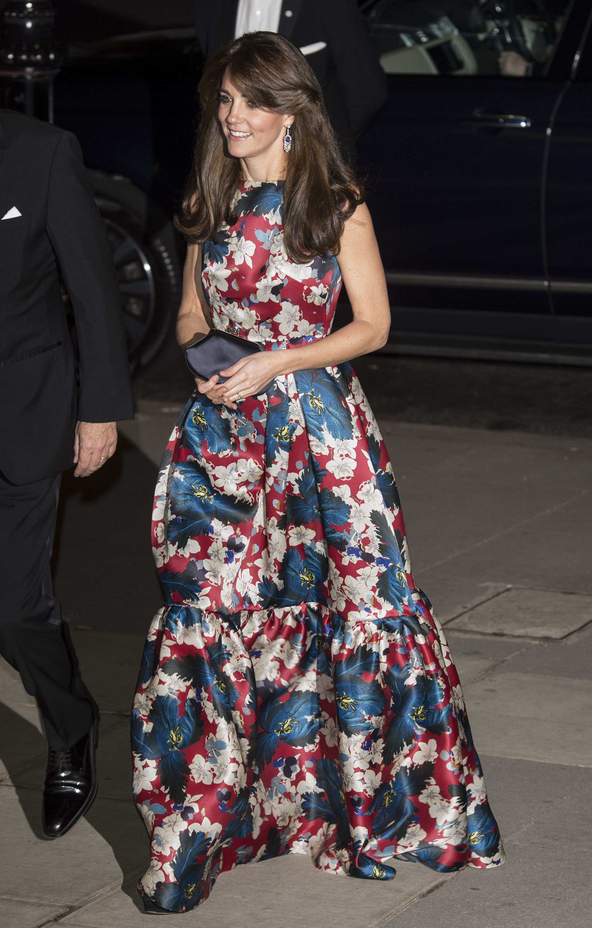 Kate Middleton attends the 100 Women In Hedge Funds Gala Dinner in London on Oct. 27, 2015.